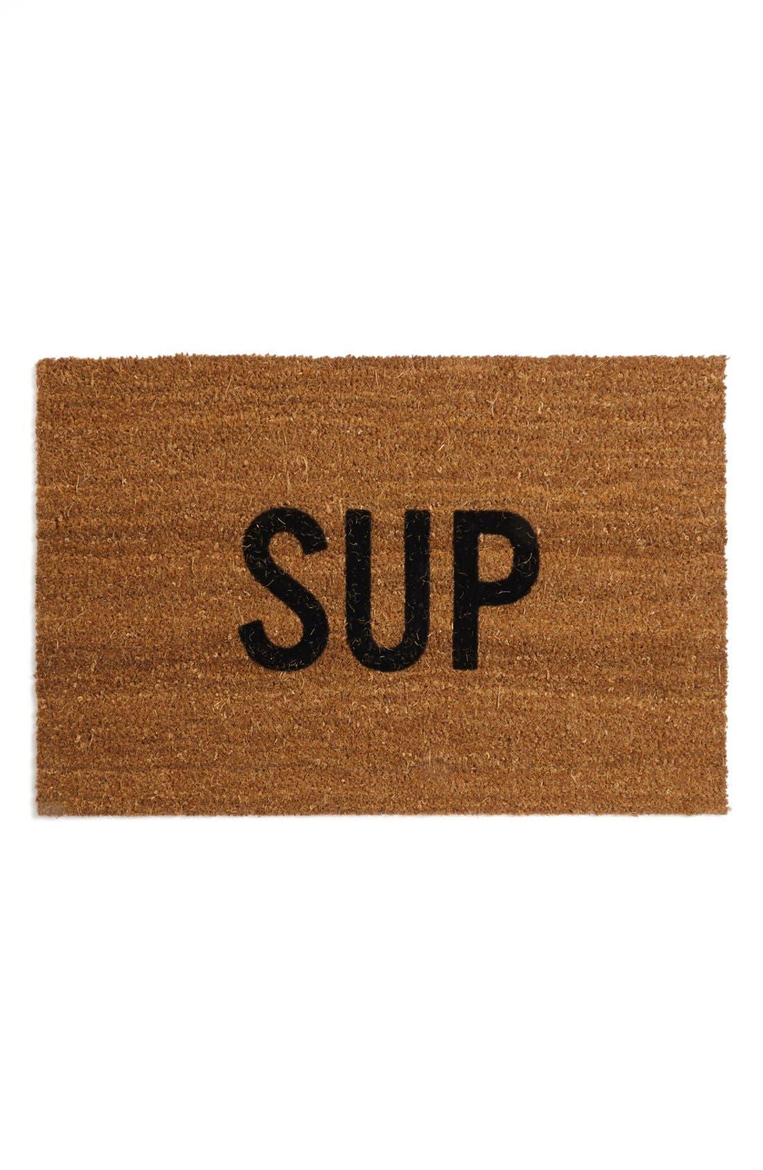 REED WILSON DESIGN 'Sup' Doormat, Main, color, 200