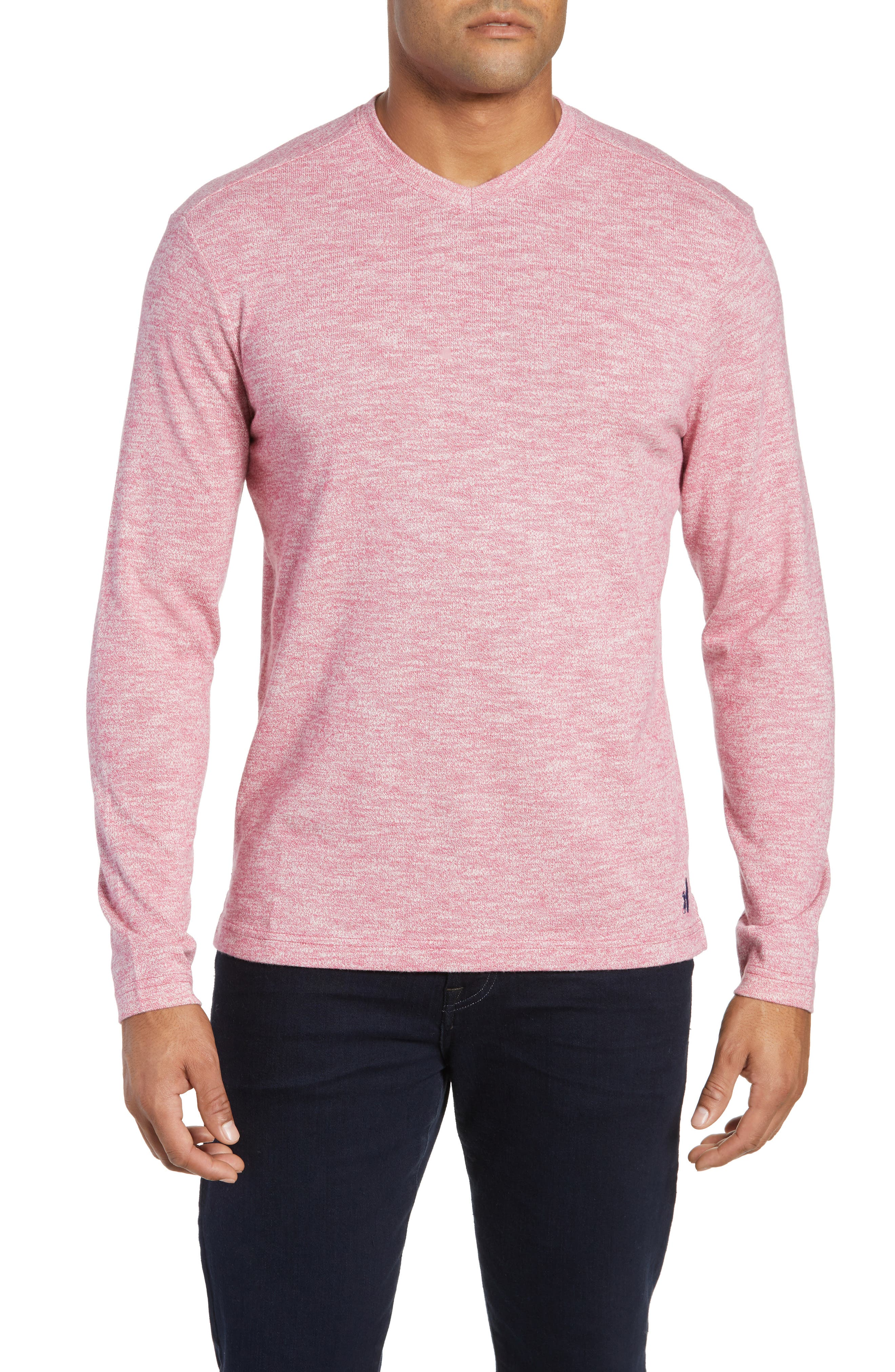Johnnie-O Cantona Regular Fit Sweater, Red