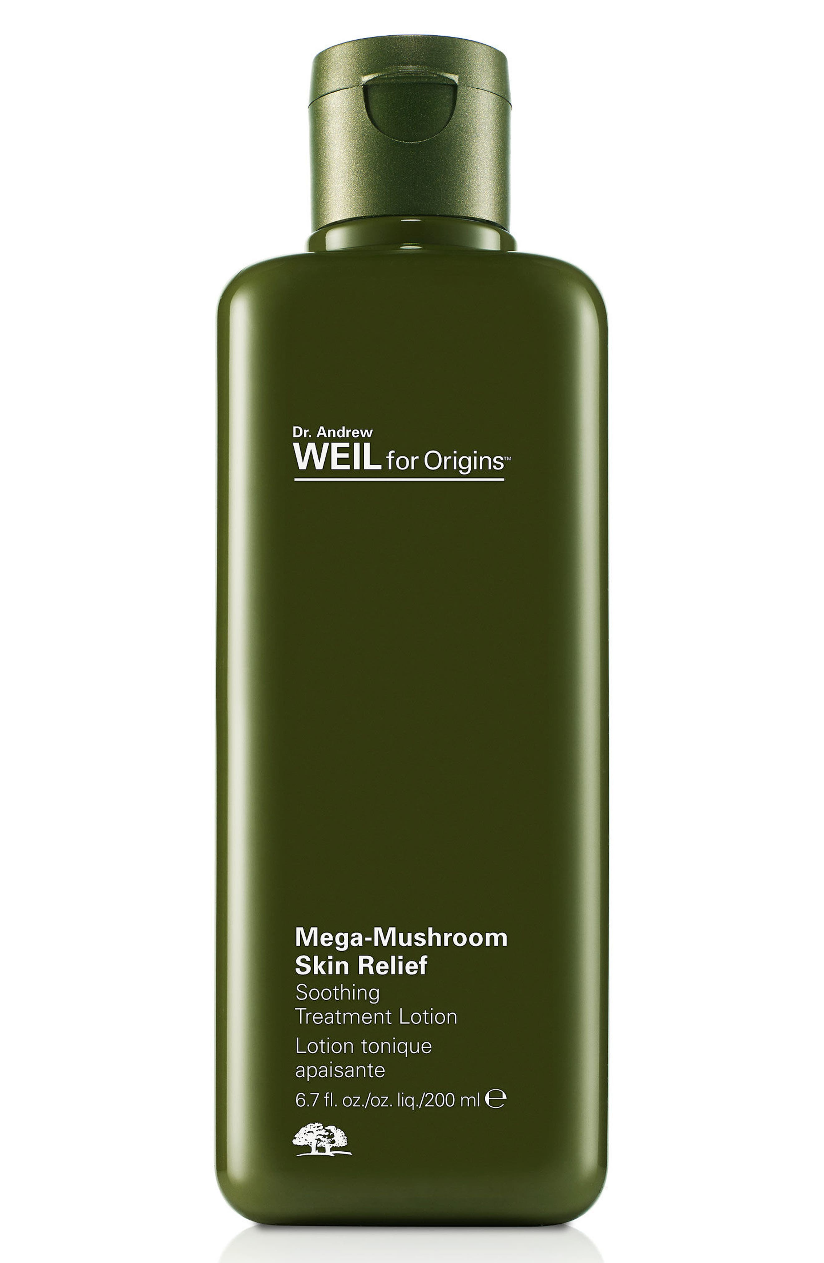 Dr. Andrew Weil for Origins<sup>™</sup> Mega-Mushroom Skin Relief Soothing Treatment Lotion,                             Alternate thumbnail 2, color,