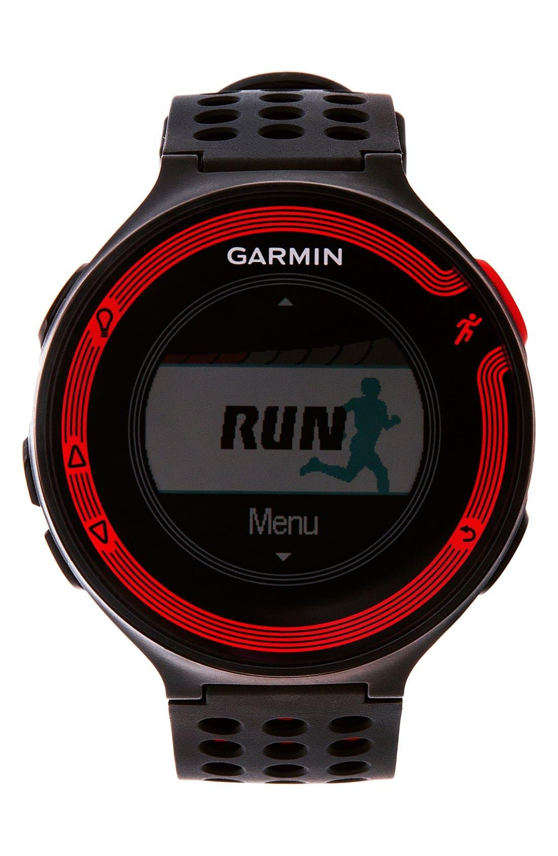 GARMIN 'Forerunner 220' Fitness Watch, 45mm, Main, color, 001