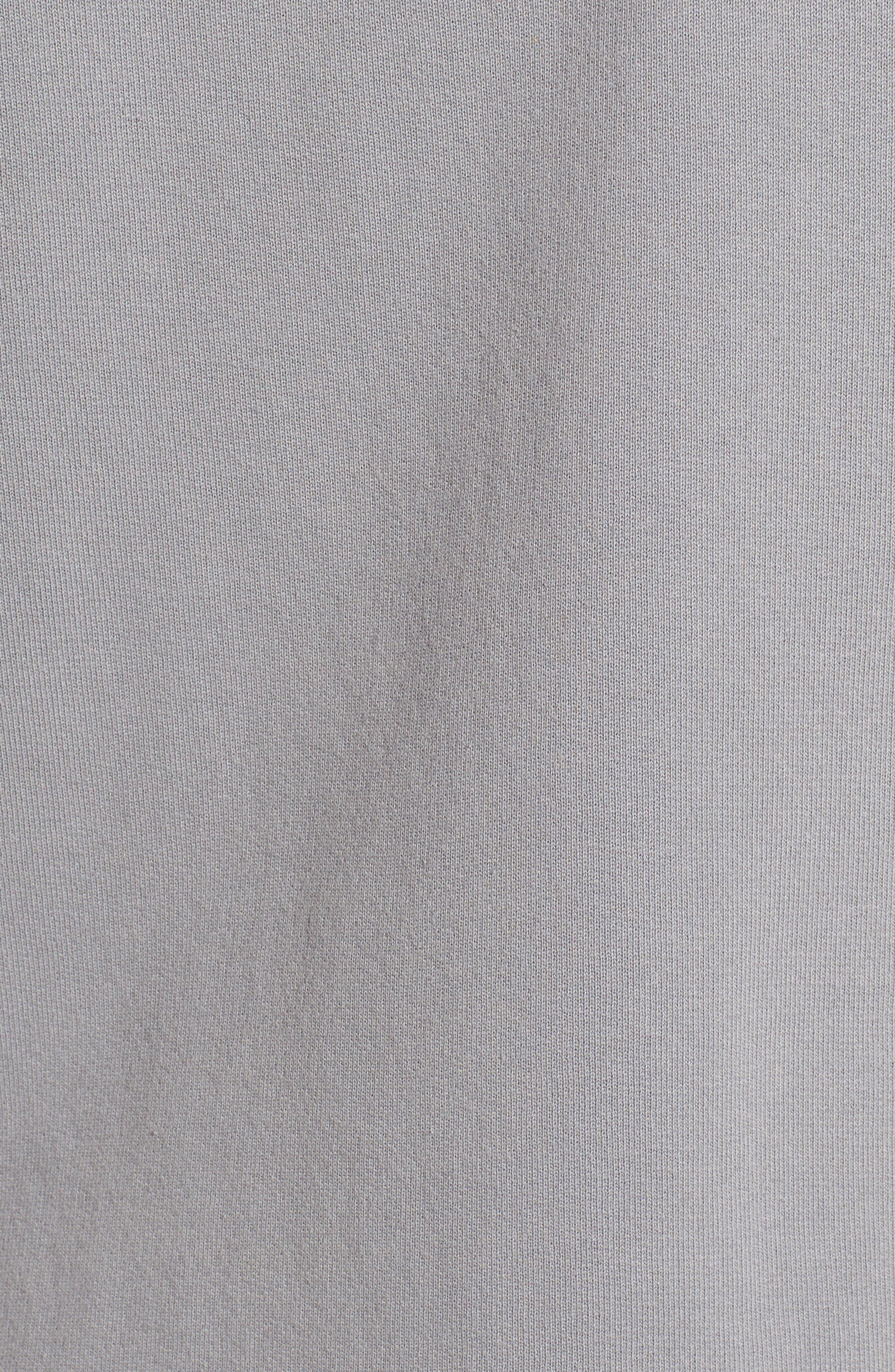 Tee Lab Long Sleeveless Zip Hoodie,                             Alternate thumbnail 5, color,                             037