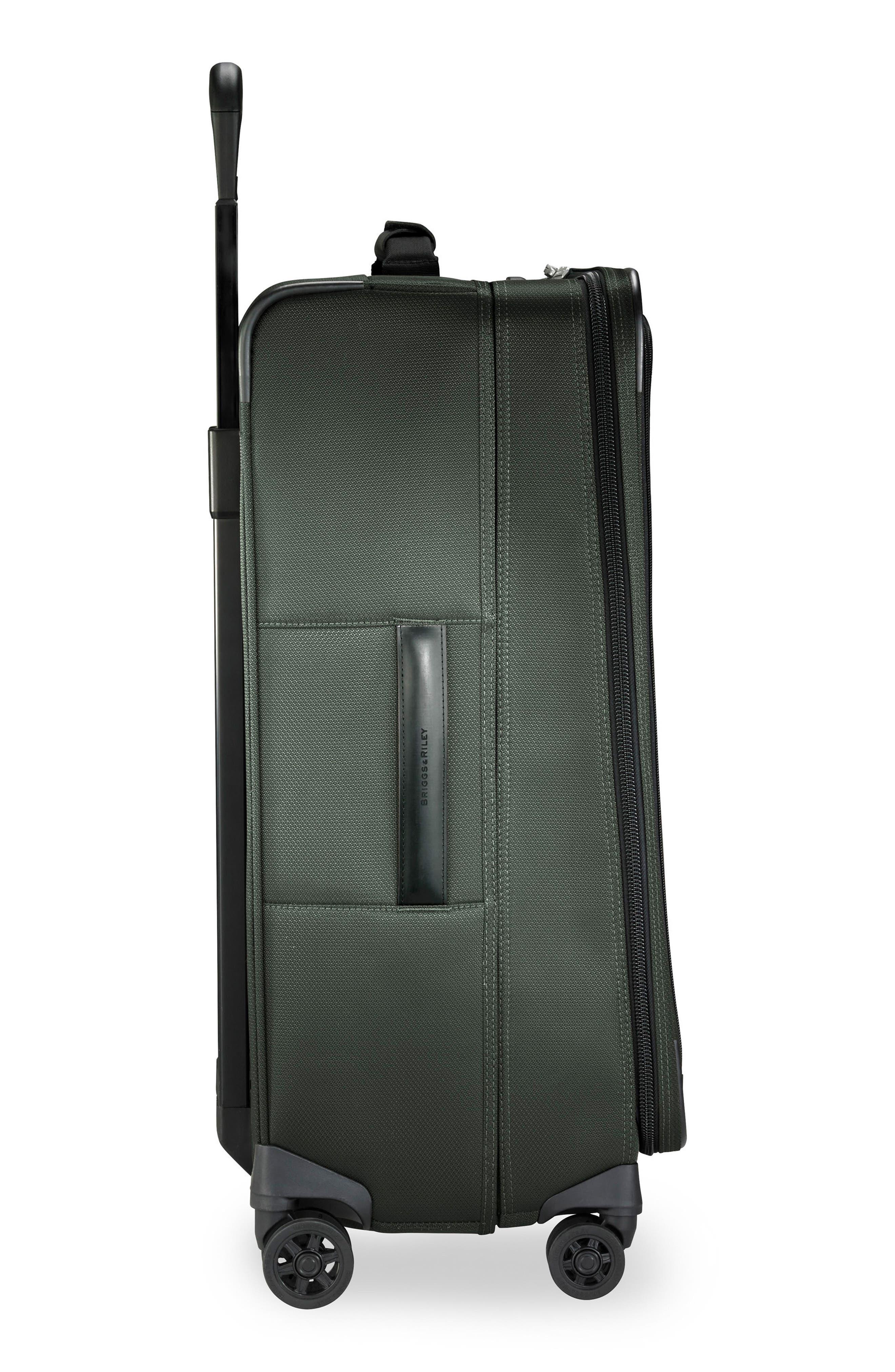 BRIGGS & RILEY,                             Transcend VX Medium Expandable 26-Inch Spinner Suitcase,                             Alternate thumbnail 3, color,                             RAINFOREST GREEN