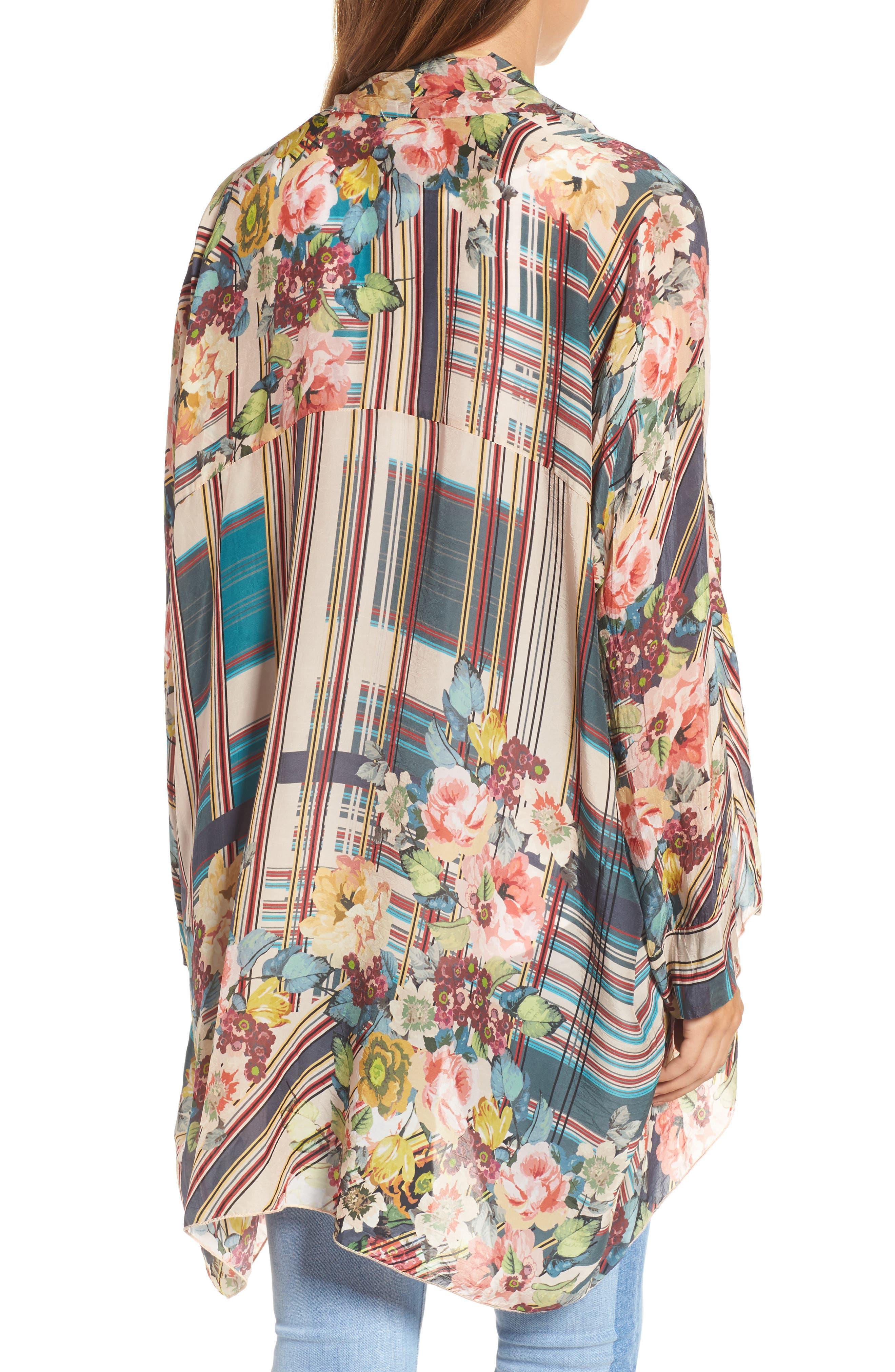 JOHNNY WAS,                             Wilimina Kimono,                             Alternate thumbnail 2, color,                             976