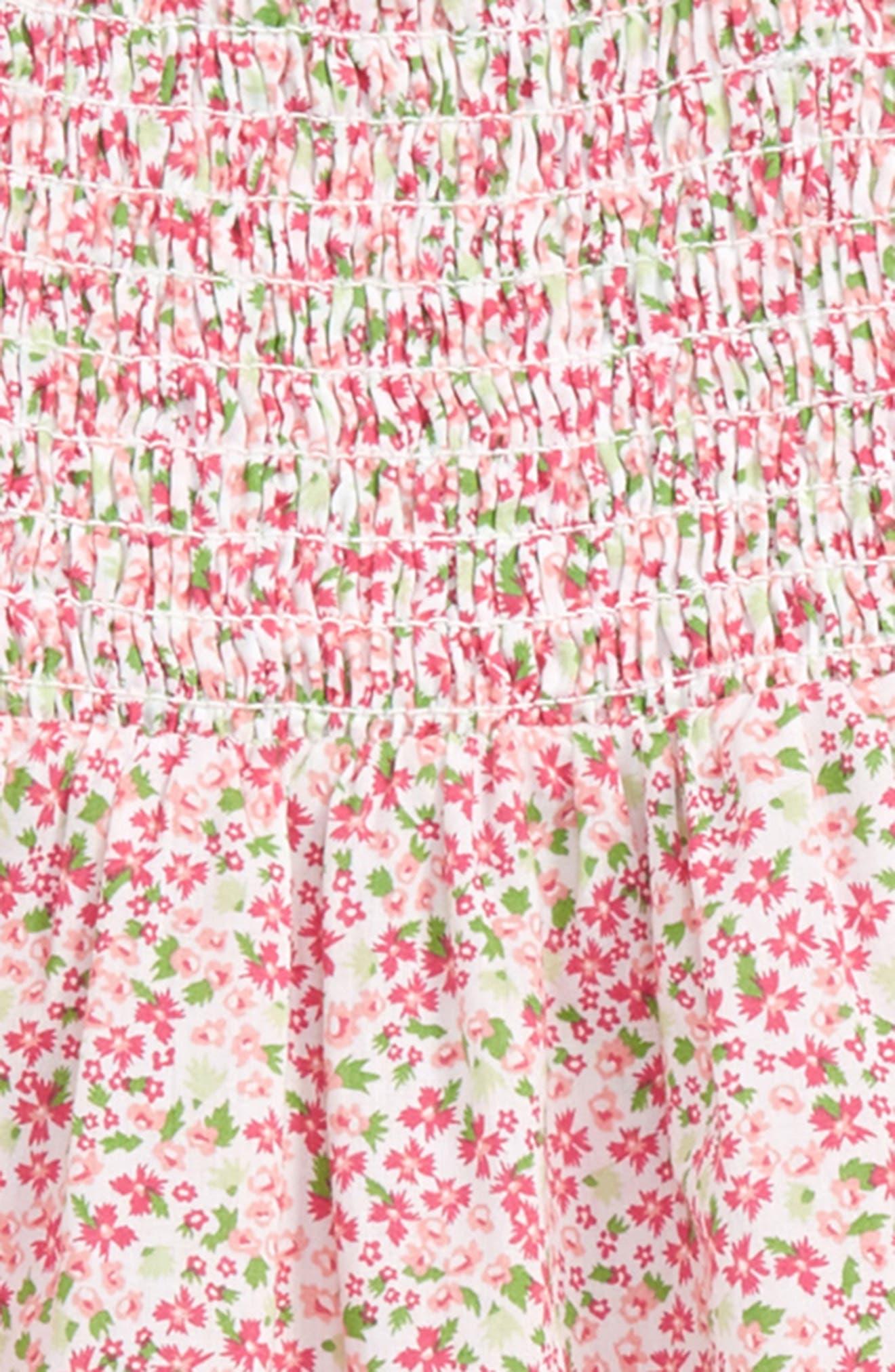 Ditzy Smock Dress,                             Alternate thumbnail 2, color,                             100