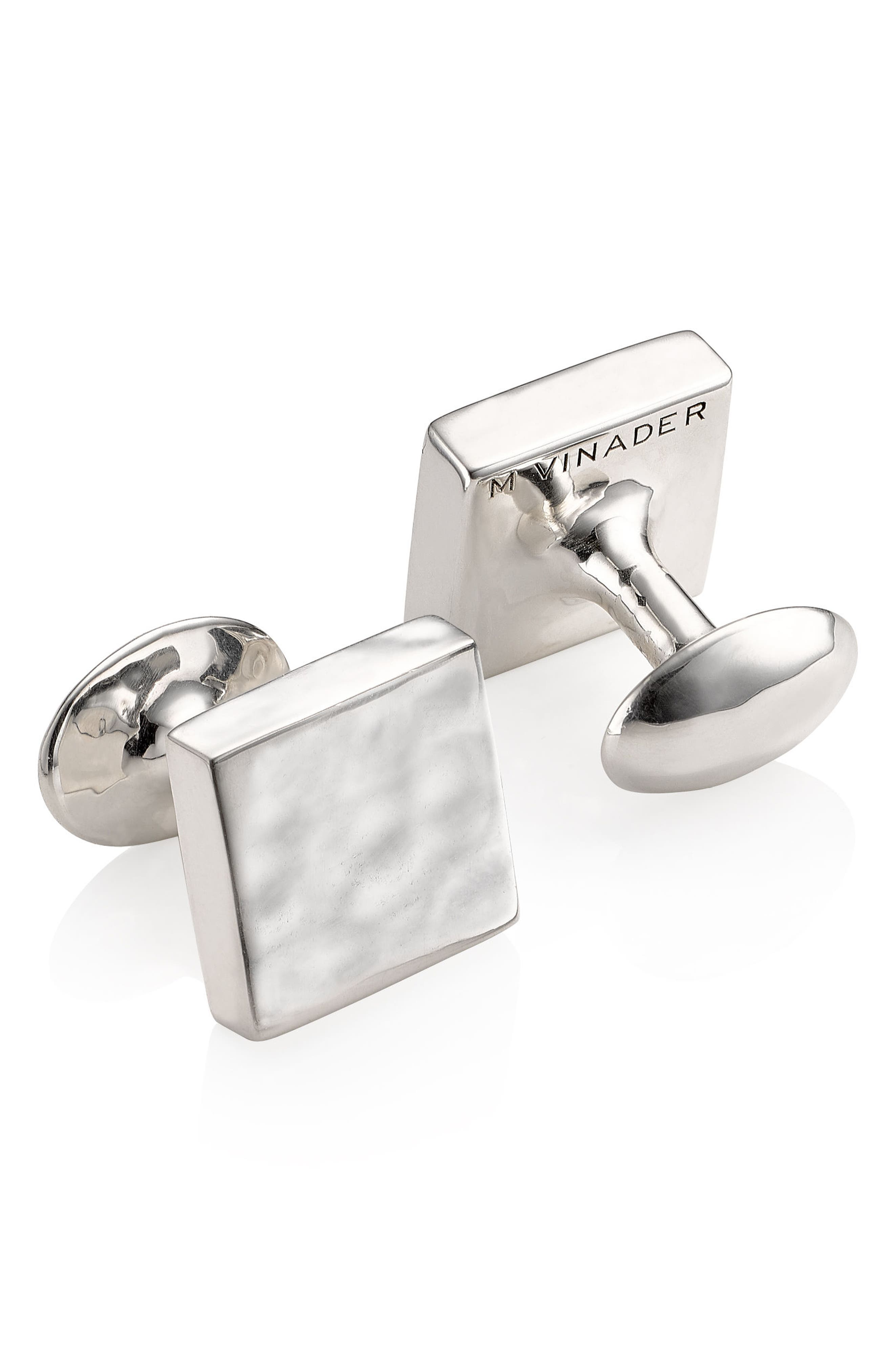 Cuff Links,                             Alternate thumbnail 2, color,                             SILVER