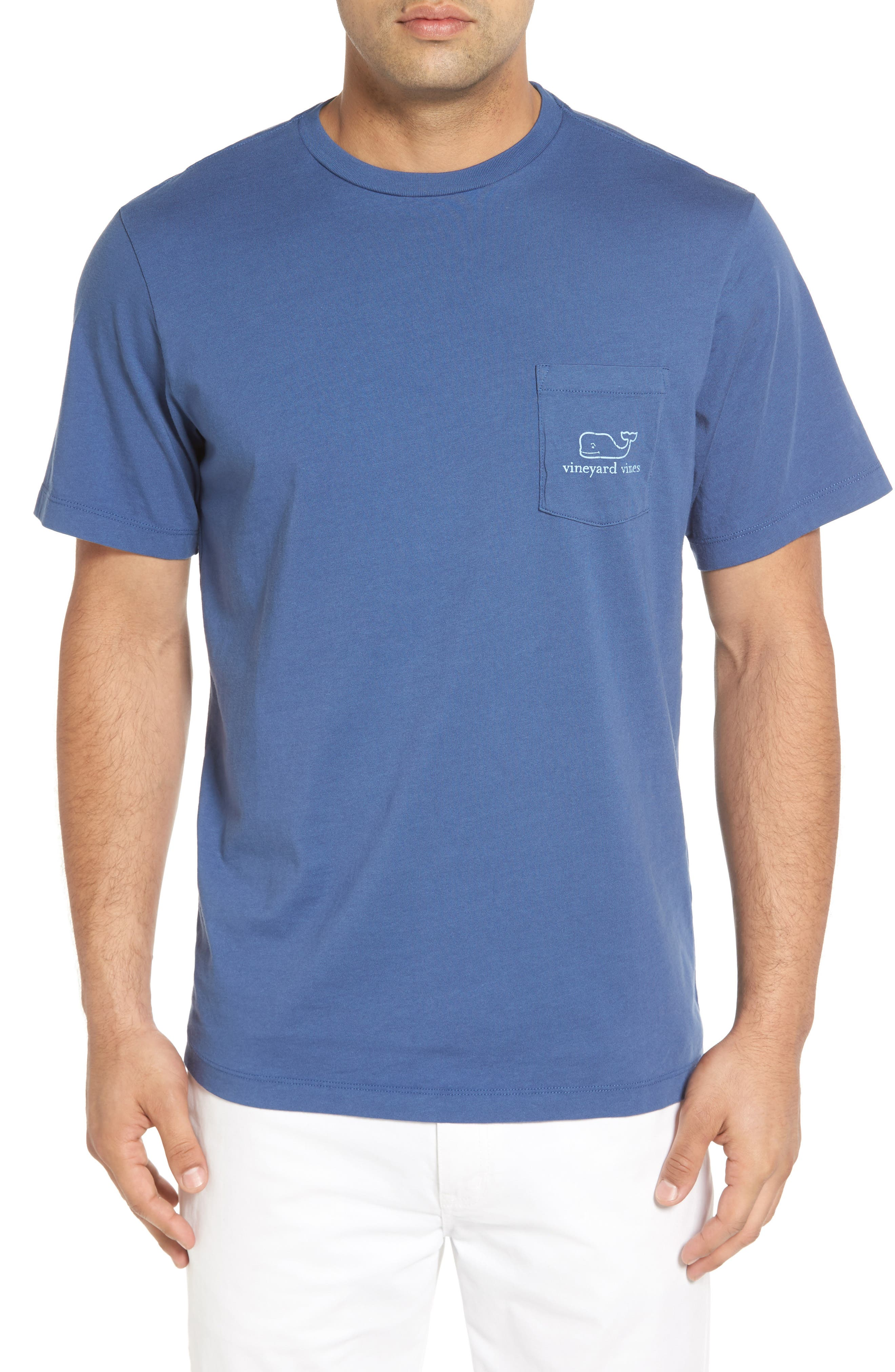 Vineyard Vines T-shirts Vintage Whale Pocket T-Shirt
