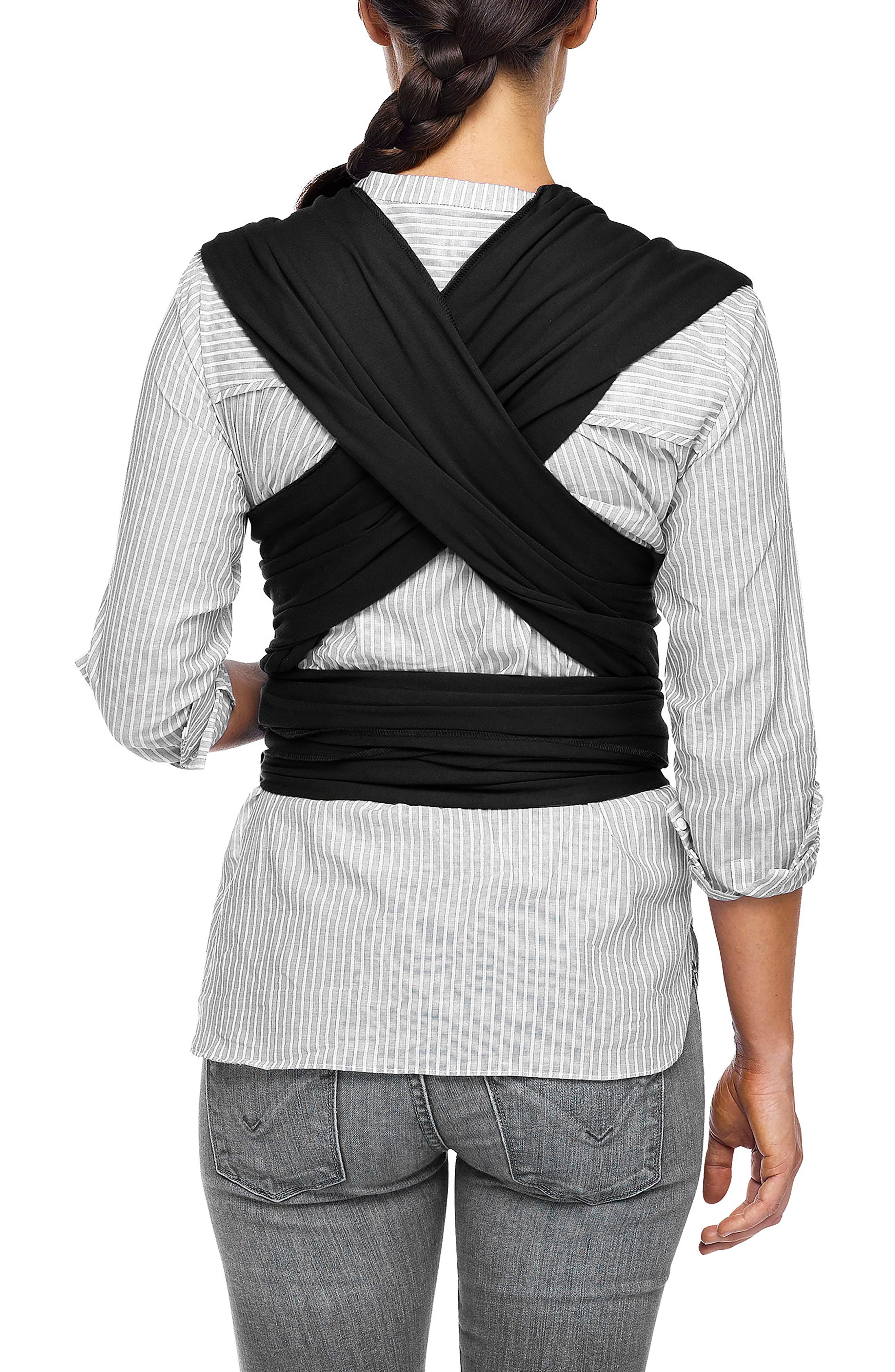 Classic Baby Carrier,                             Alternate thumbnail 3, color,                             BLACK