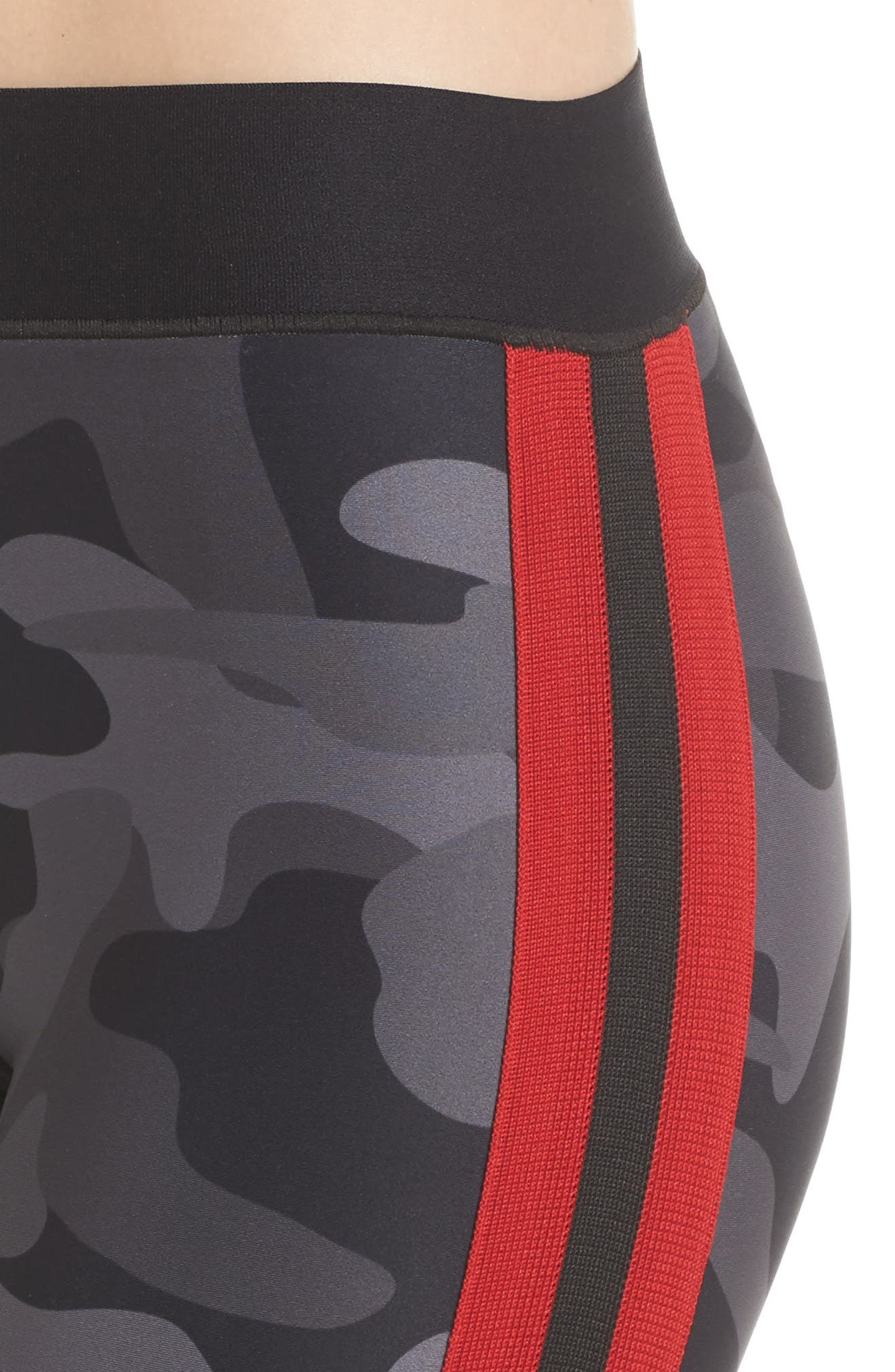 Ultra Camo Collegiate Leggings,                             Alternate thumbnail 4, color,                             005