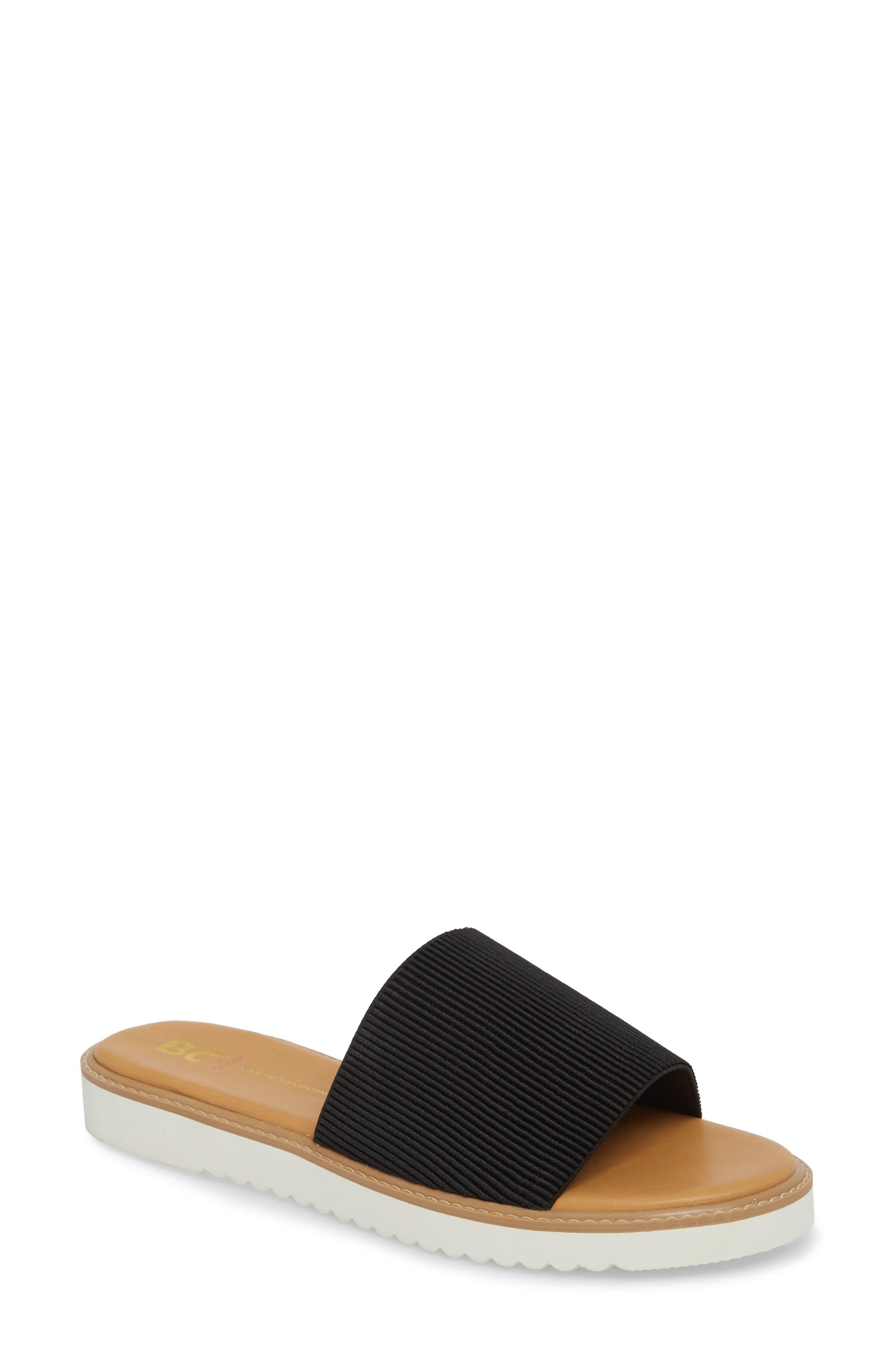 Cotton Candy Slide Sandal,                             Main thumbnail 1, color,                             001
