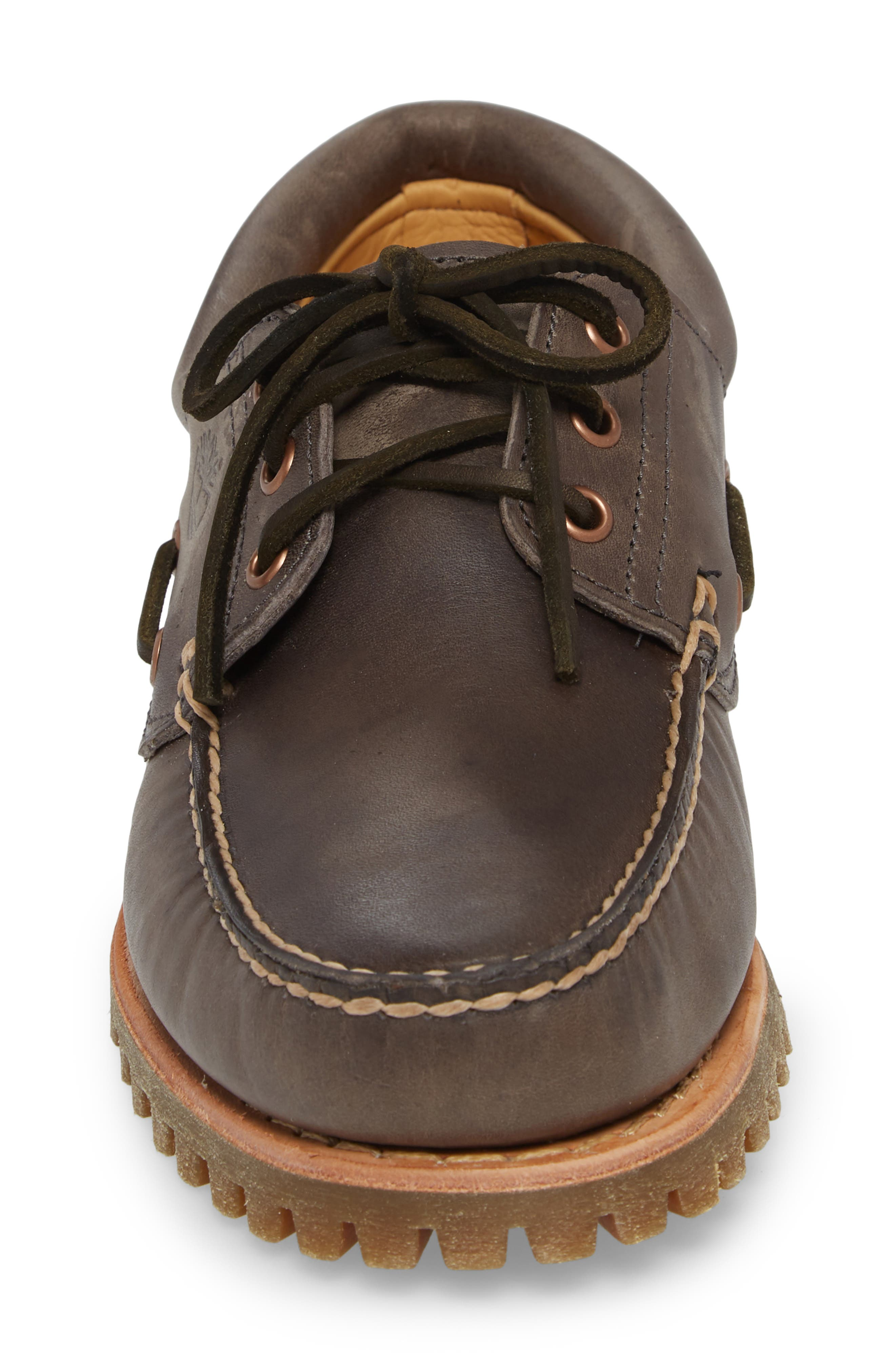 Lug Classic Boat Shoe,                             Alternate thumbnail 4, color,                             200