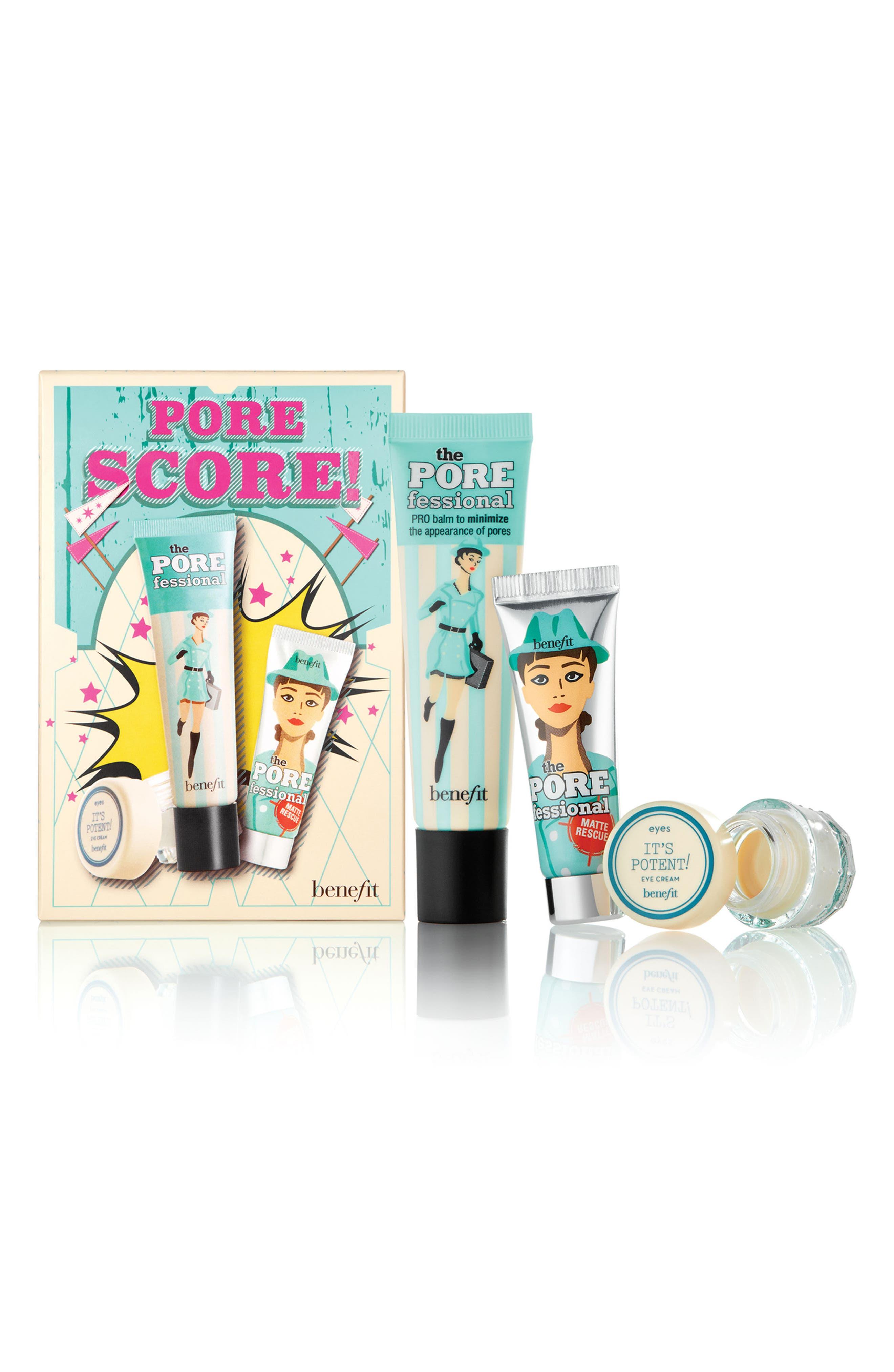 Benefit Pore Score! Complexion Set for Pores & Undereyes,                             Main thumbnail 1, color,                             000