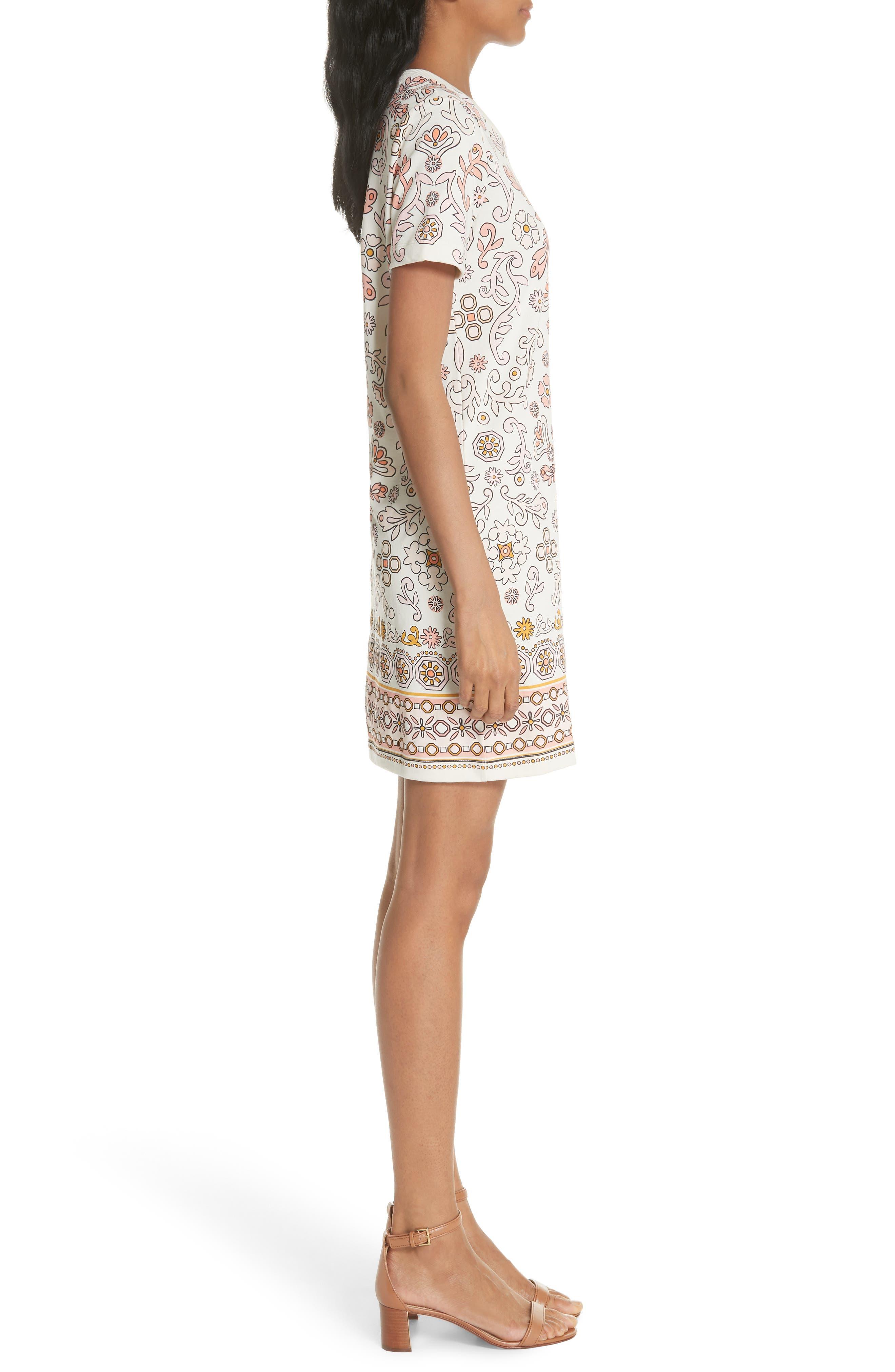 Avril Pima Cotton Dress,                             Alternate thumbnail 3, color,                             198