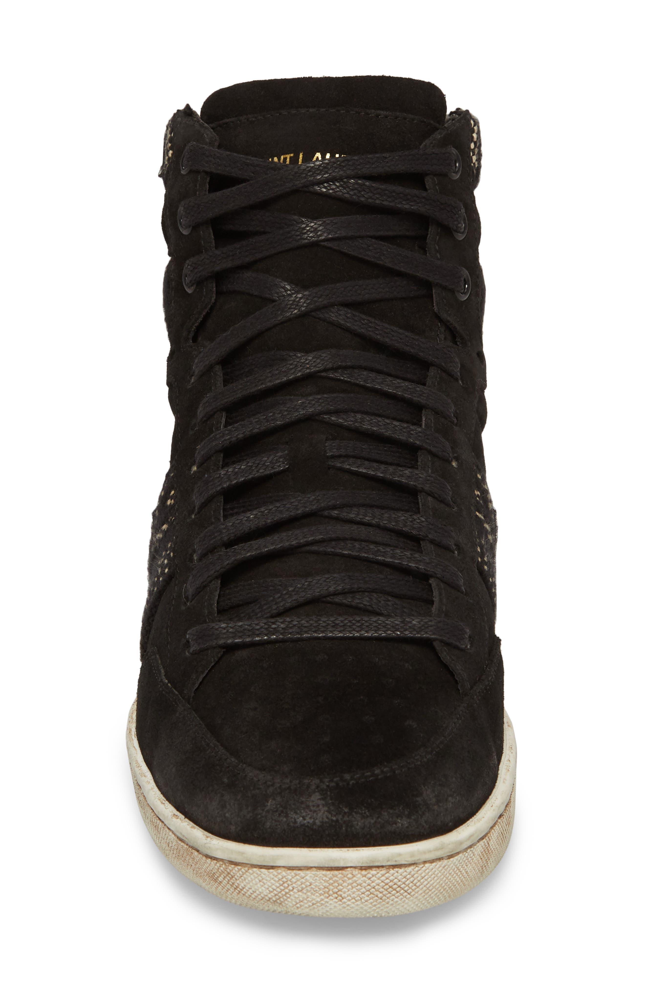High Top Sneaker,                             Alternate thumbnail 4, color,