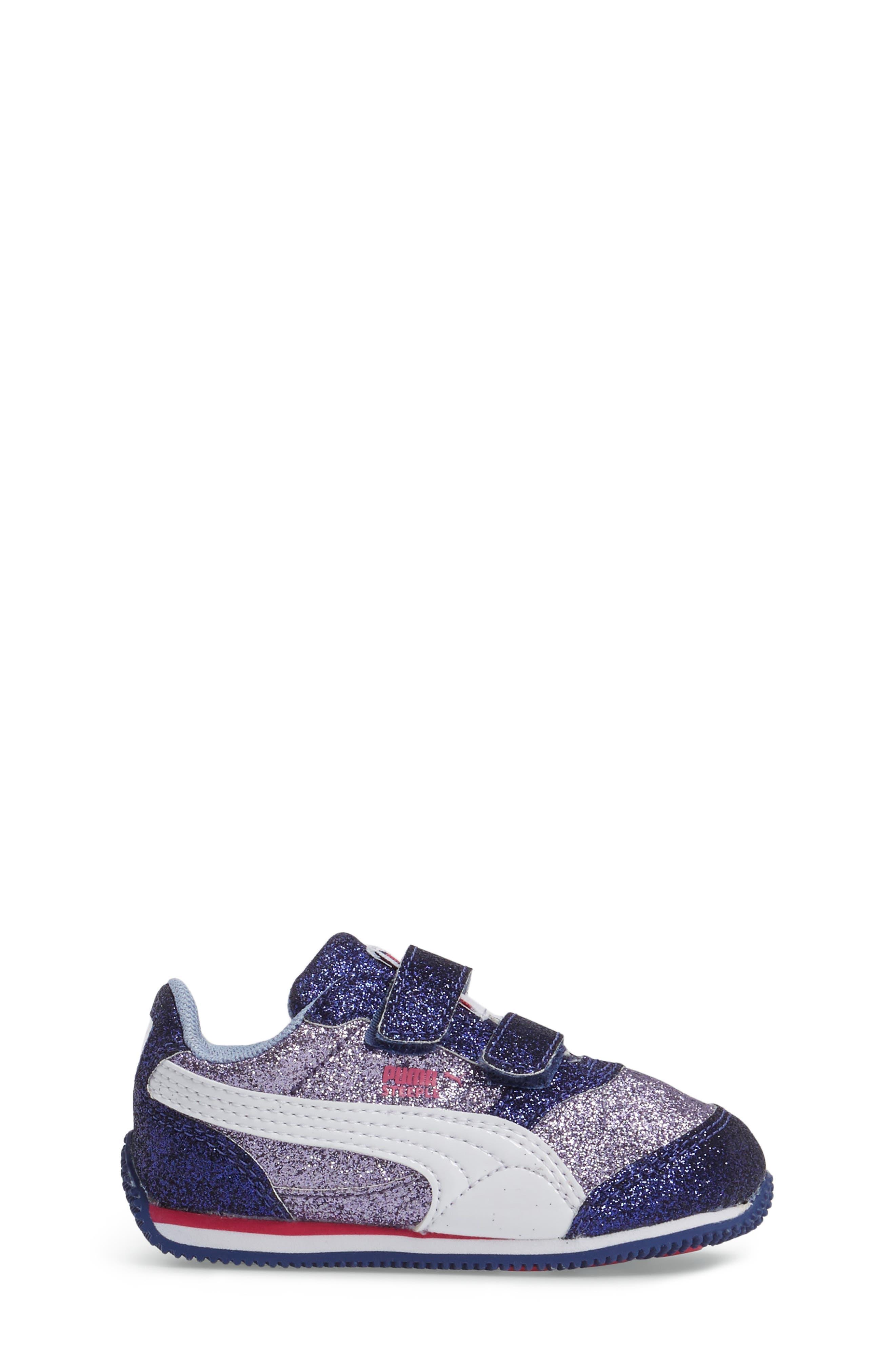 Steeple Glitz Glam Sneaker,                             Alternate thumbnail 3, color,                             500