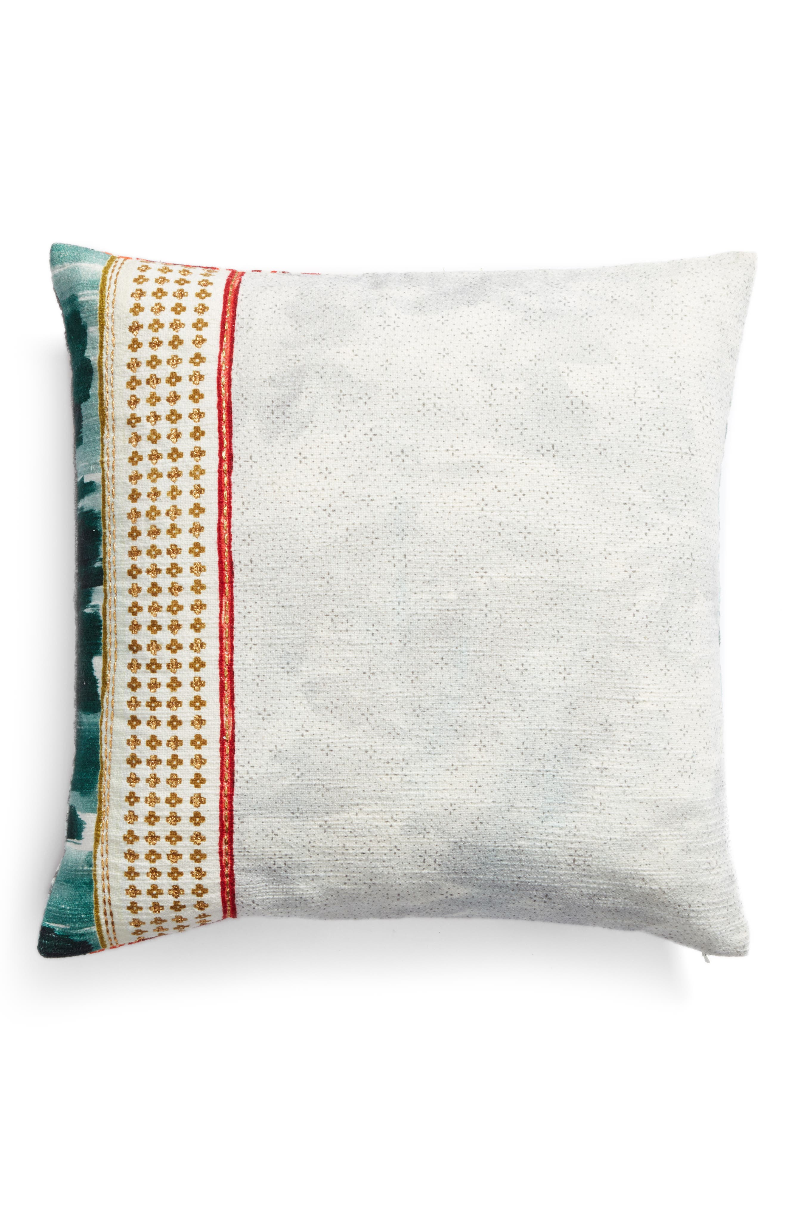 Block Print Pillow,                             Alternate thumbnail 2, color,                             900
