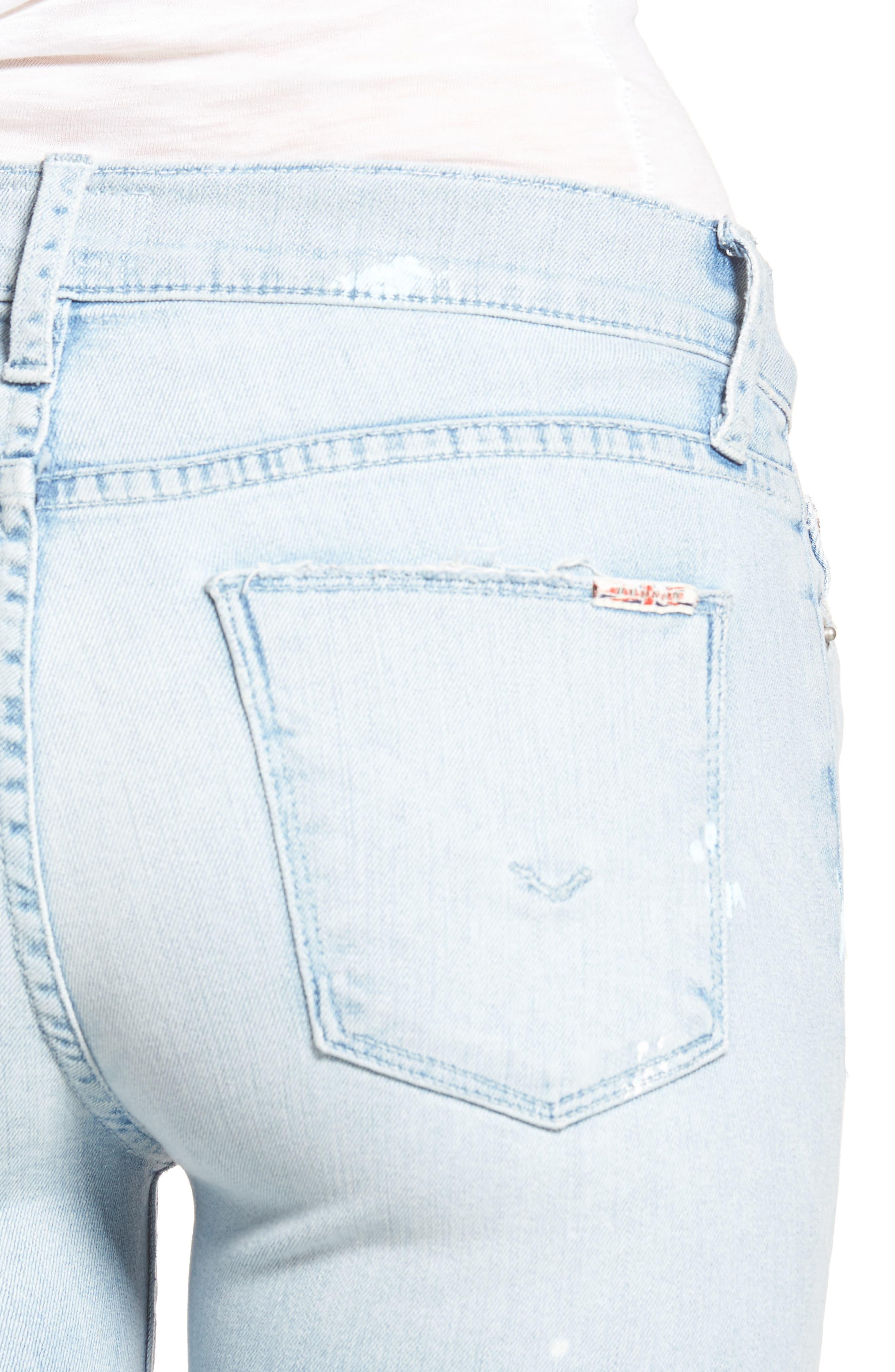 Hudson Nico Ankle Skinny Jeans,                             Alternate thumbnail 8, color,