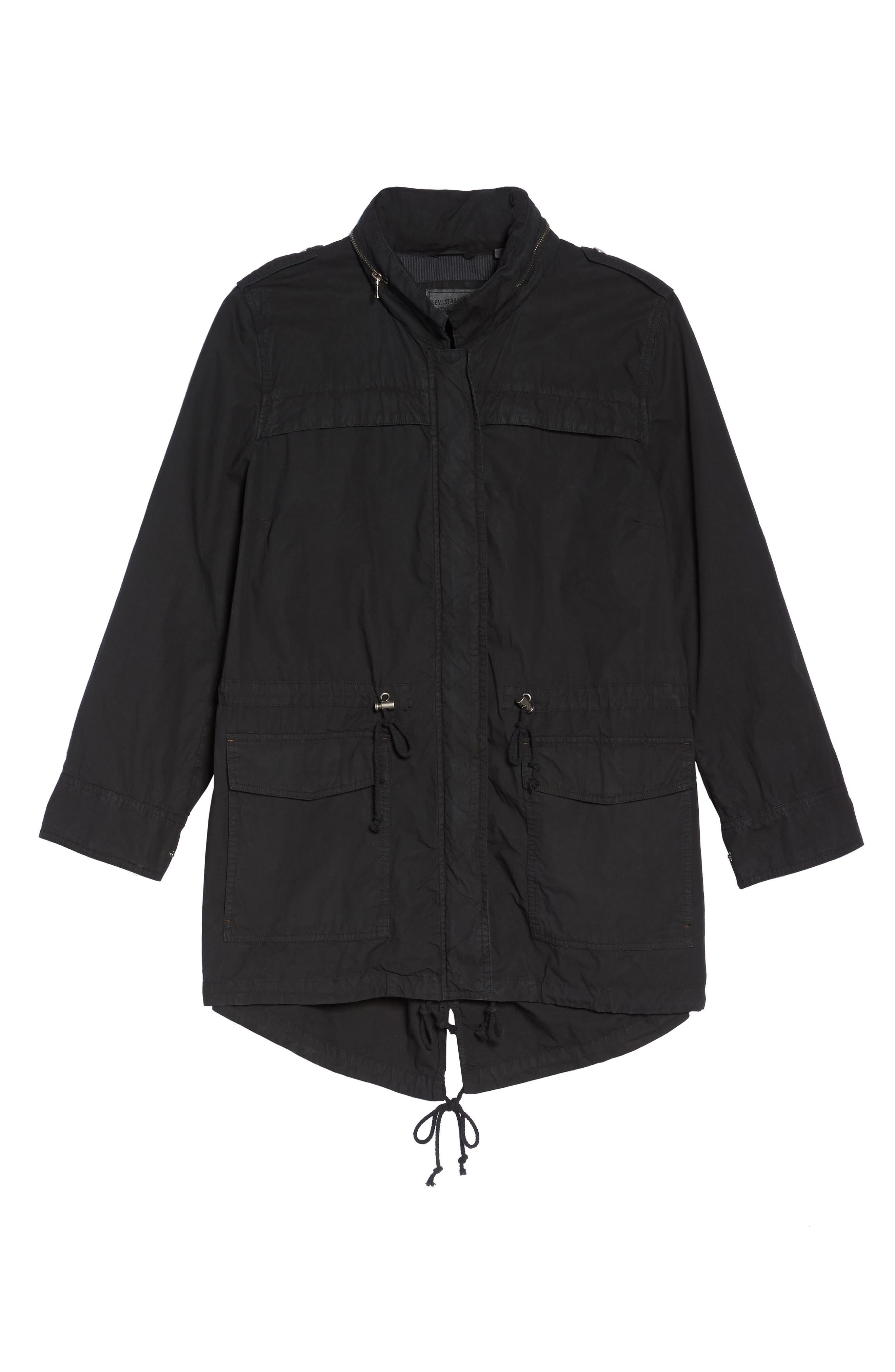 Parachute Hooded Cotton Utility Jacket,                             Alternate thumbnail 13, color,