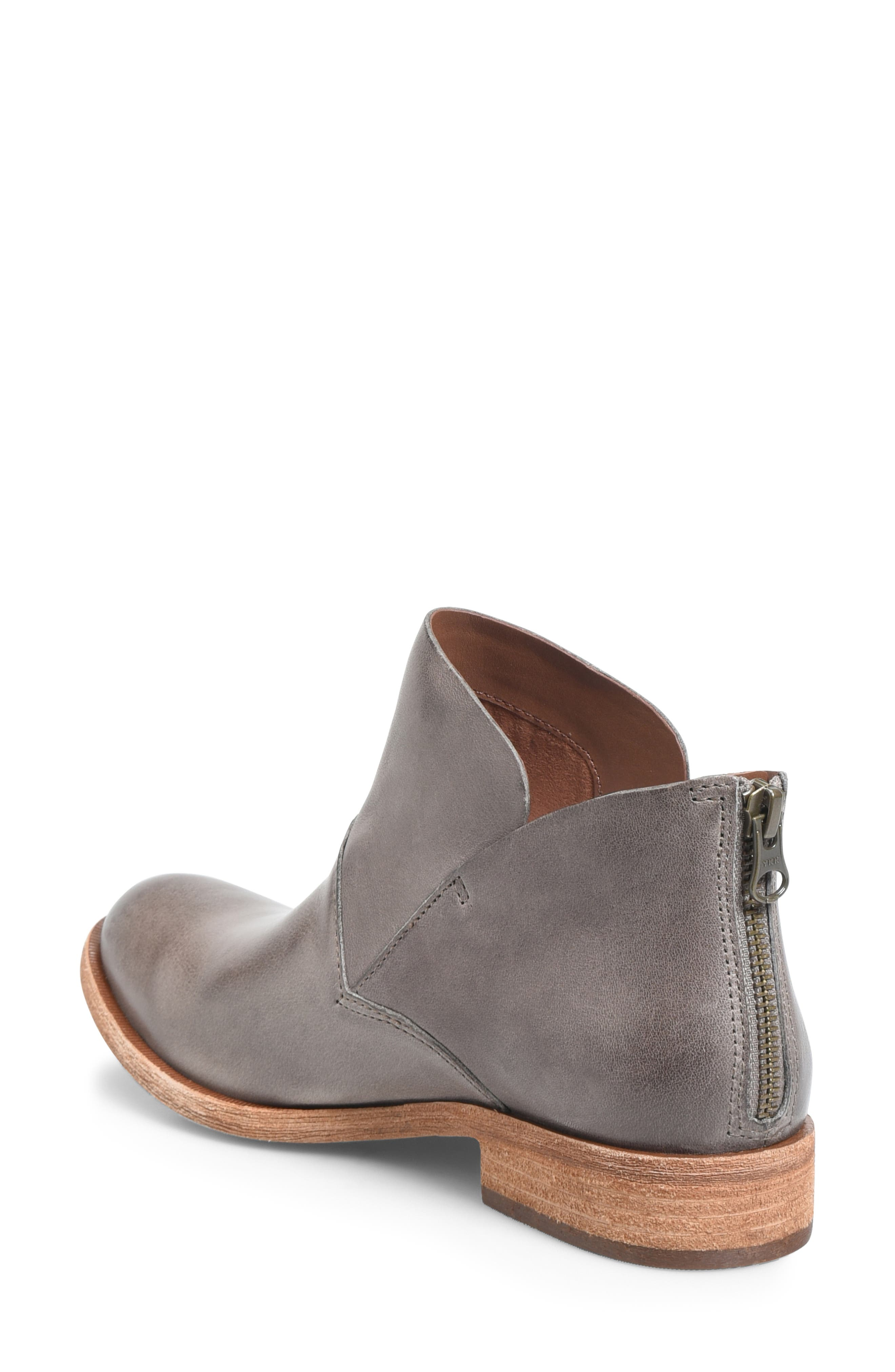 Ryder Ankle Boot,                             Alternate thumbnail 2, color,                             GREY LEATHER