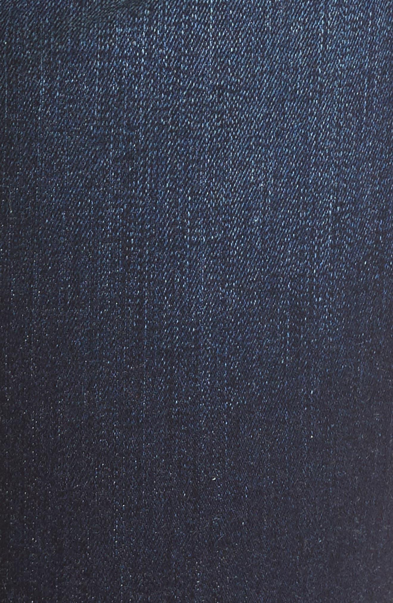 Alina Release Hem Stretch Ankle Jeans,                             Alternate thumbnail 5, color,                             421