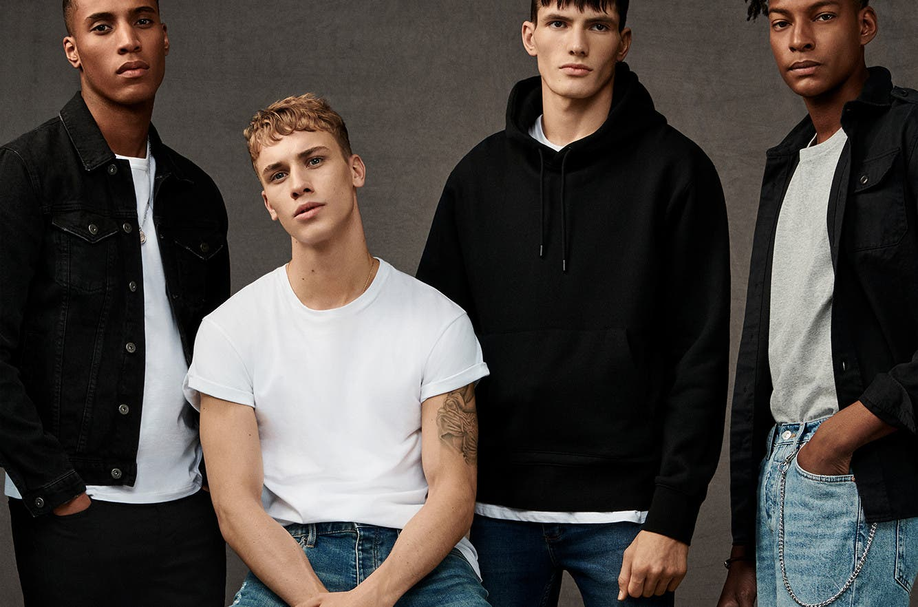 This just in, everyday essentials for men from Topman.