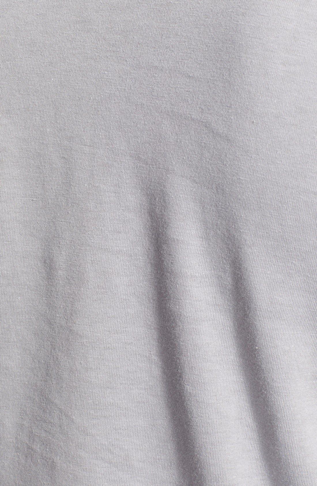 Cotton Jersey T-Shirt,                             Alternate thumbnail 3, color,                             020
