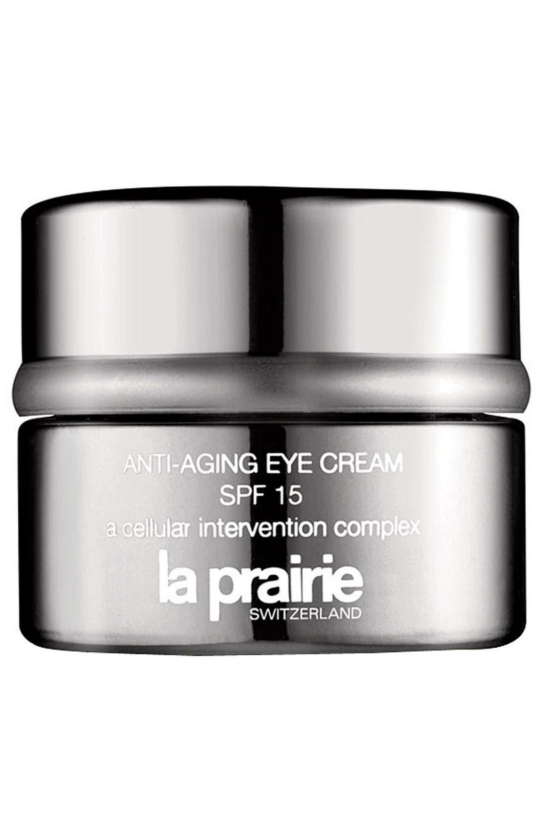 Anti-Aging Eye Cream Sunscreen Broad Spectrum SPF 15,                             Main thumbnail 1, color,                             NO COLOR