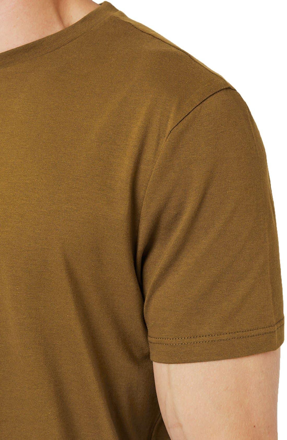 Slim Fit Crewneck T-Shirt,                             Alternate thumbnail 329, color,
