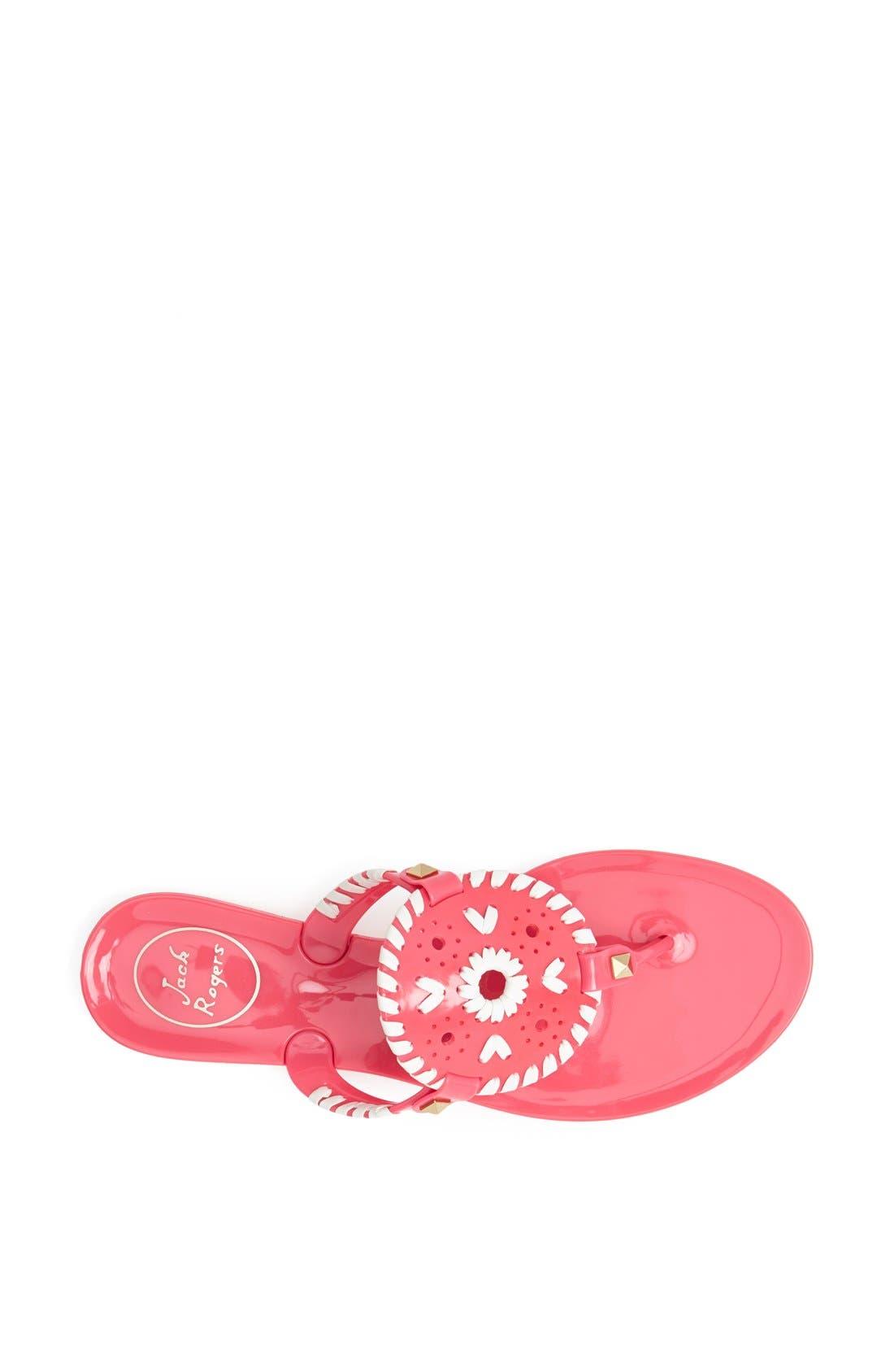'Georgica' Jelly Flip Flop,                             Alternate thumbnail 157, color,