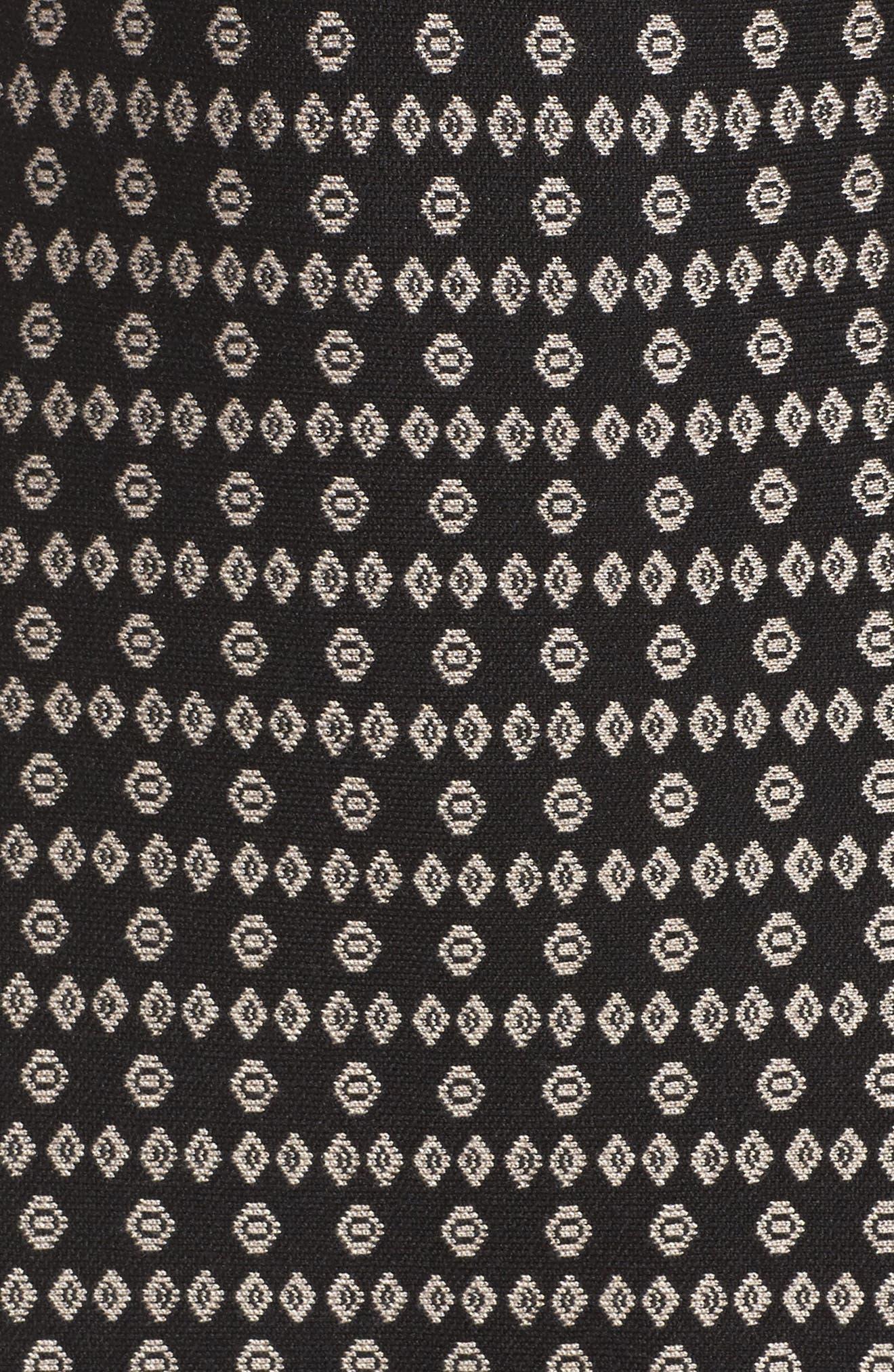 Flounce Hem Sweater Dress,                             Alternate thumbnail 5, color,