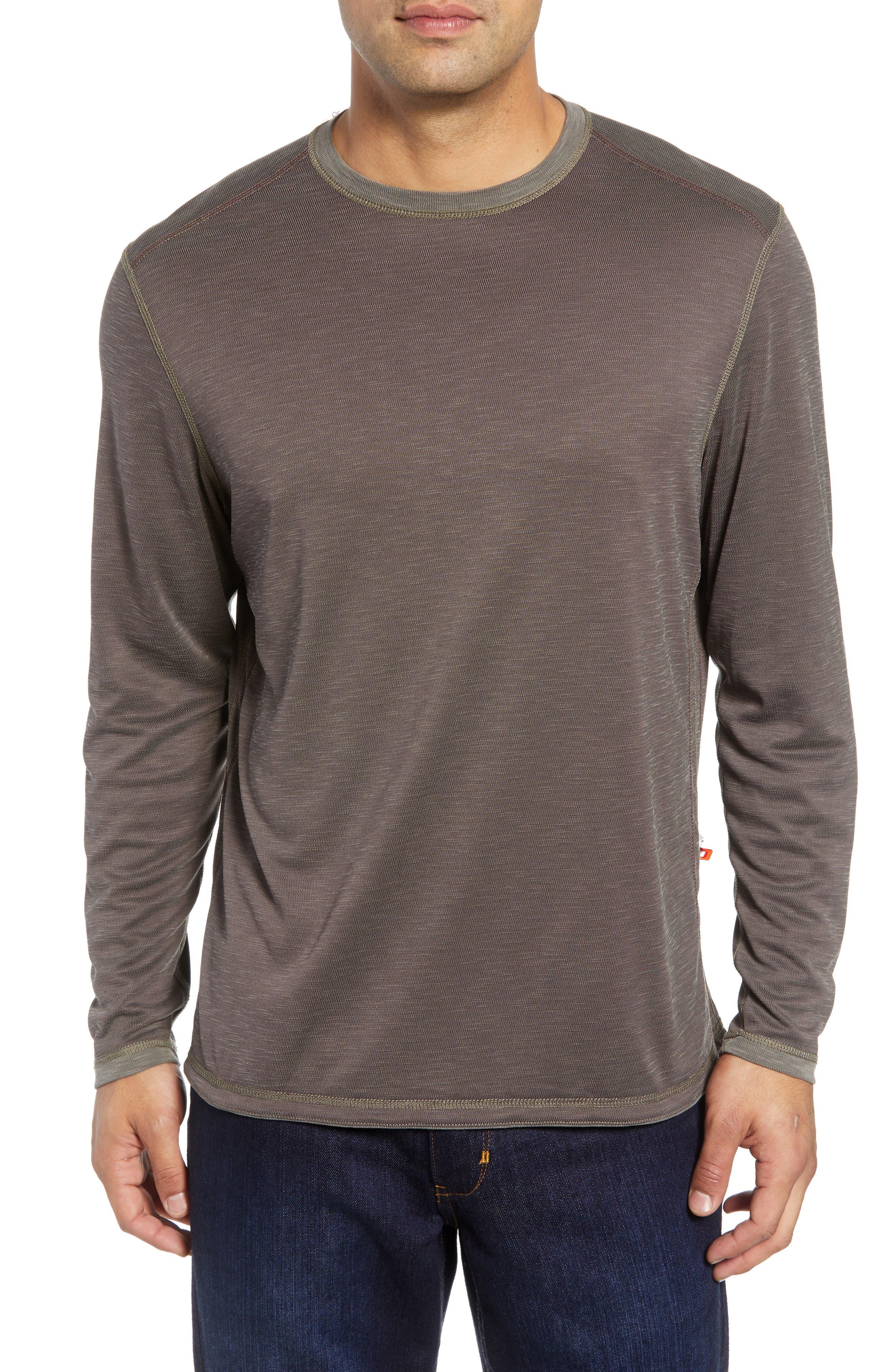 Flip Tide Standard Fit T-Shirt,                             Alternate thumbnail 2, color,                             BITTERSWEET CHOCOLATE