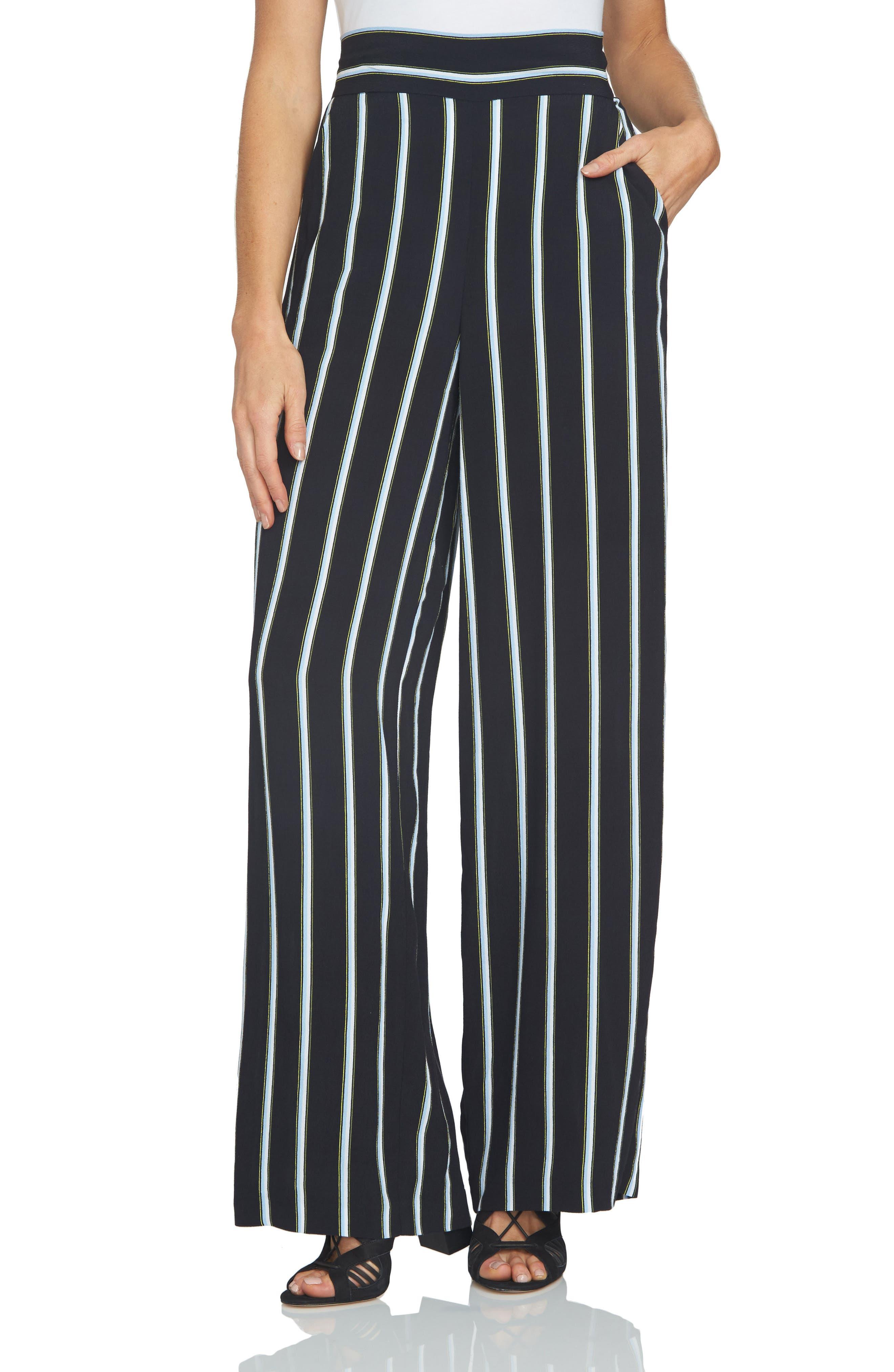 High Waist Drapey Shorts,                             Main thumbnail 1, color,                             001