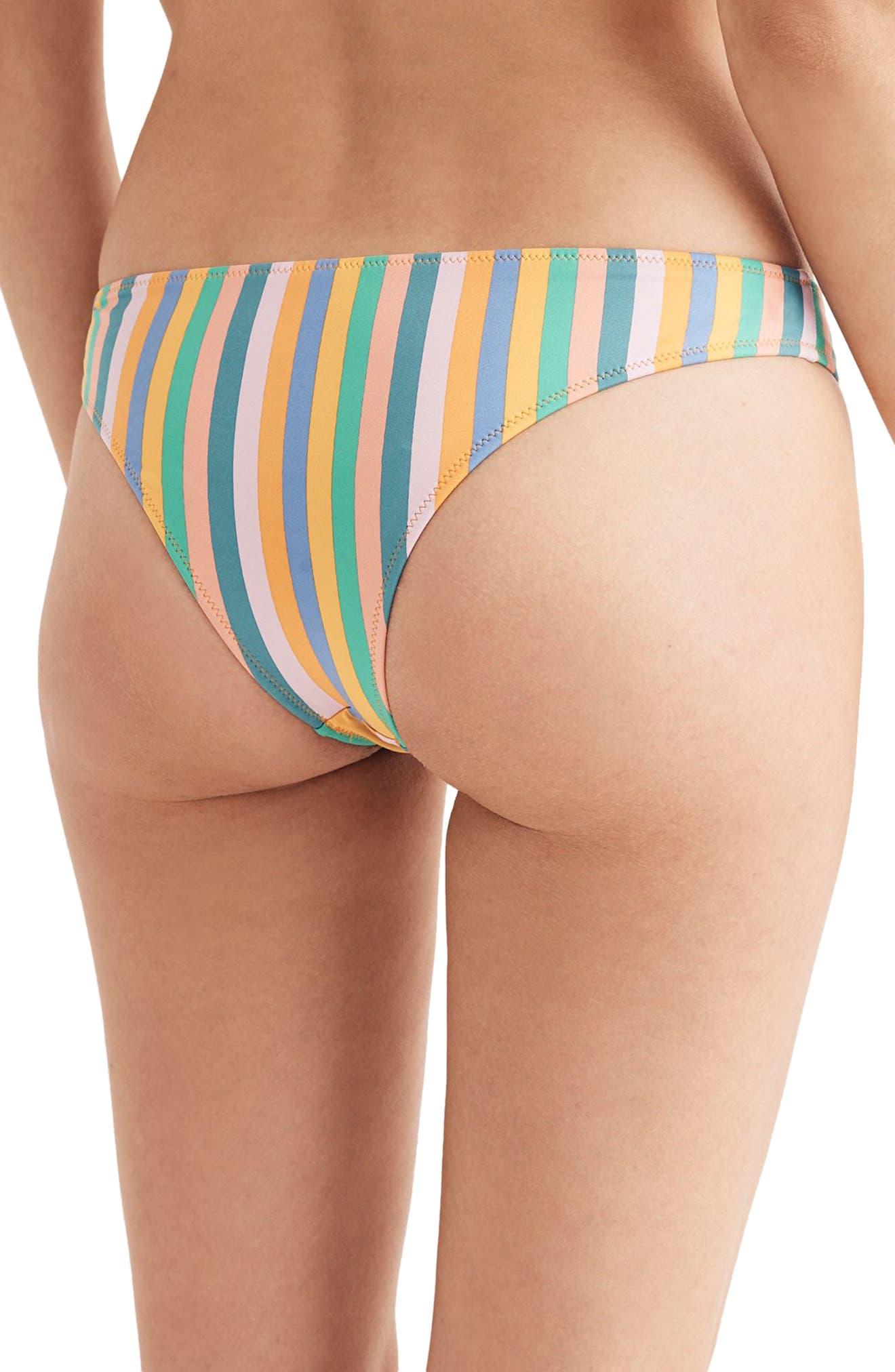 Daryl Hipster Cheeky Bikini Bottoms,                             Alternate thumbnail 2, color,                             400