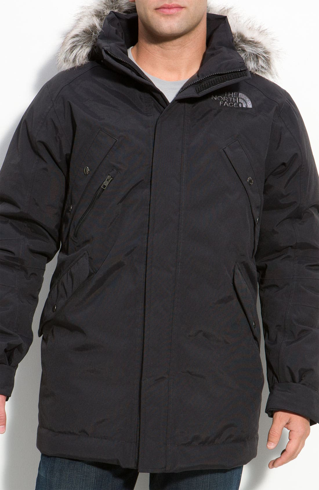'Stone Sentinel' Insulated Jacket,                         Main,                         color, 010