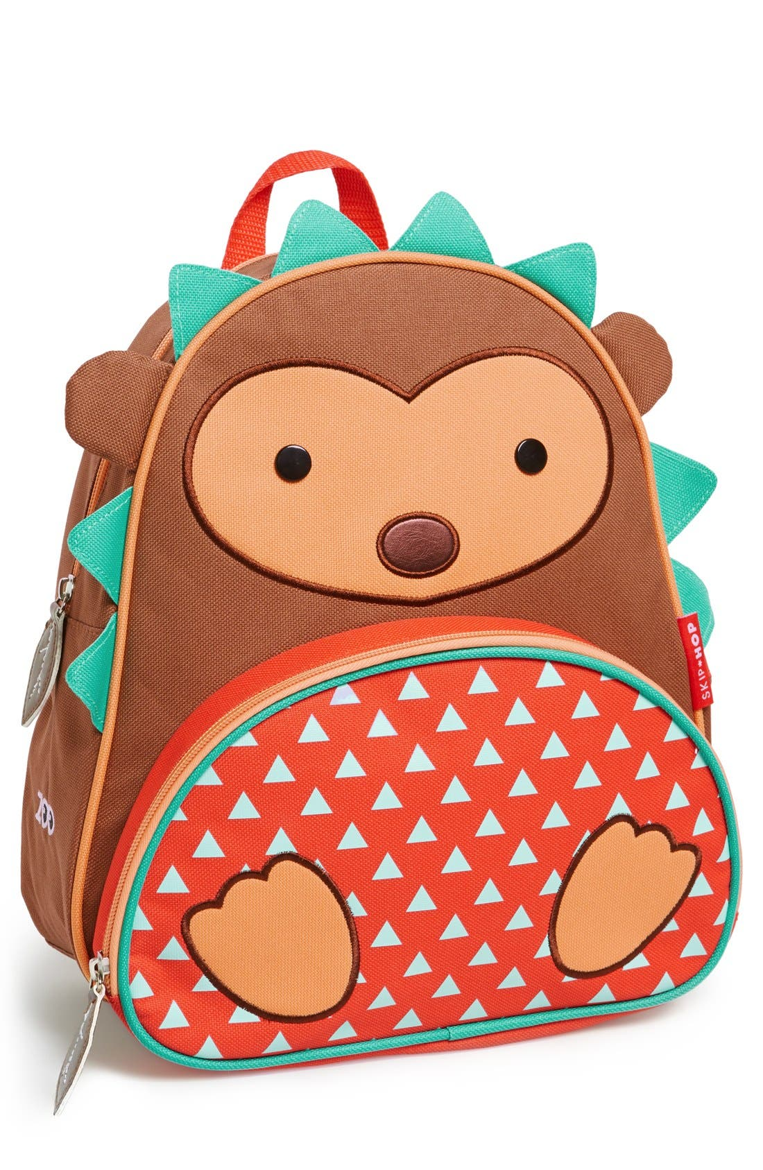 Zoo Pack Backpack,                             Alternate thumbnail 4, color,                             BROWN SOLID