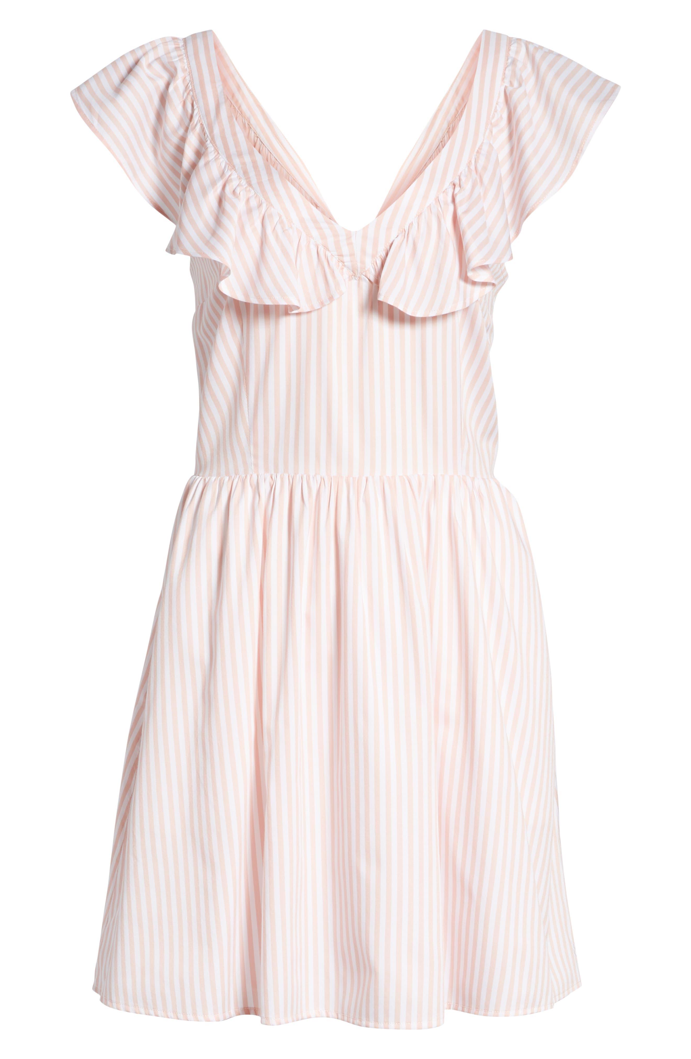 Ruffle Dress,                             Alternate thumbnail 7, color,                             660