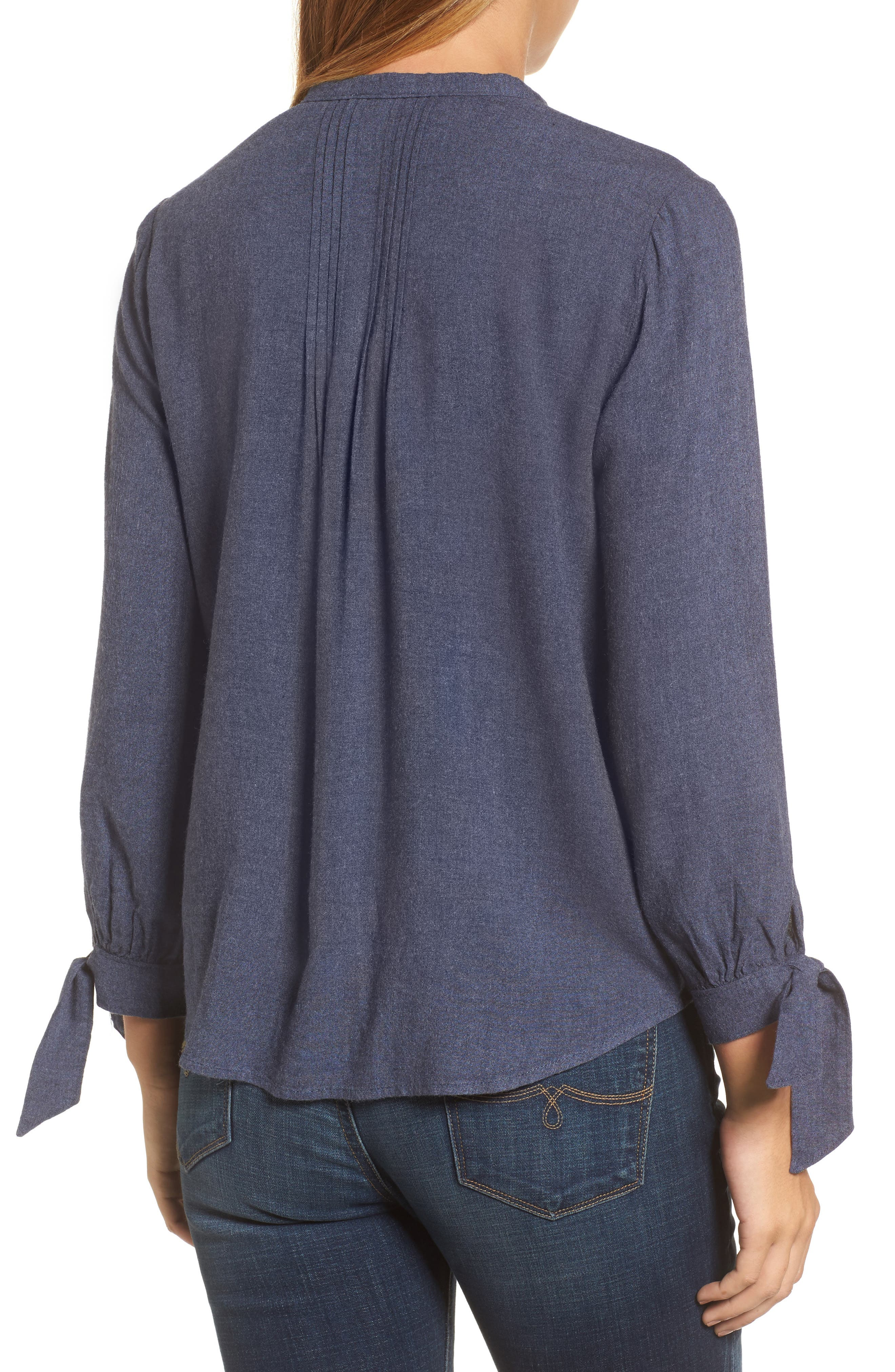 Tie Sleeve Top,                             Alternate thumbnail 2, color,                             467