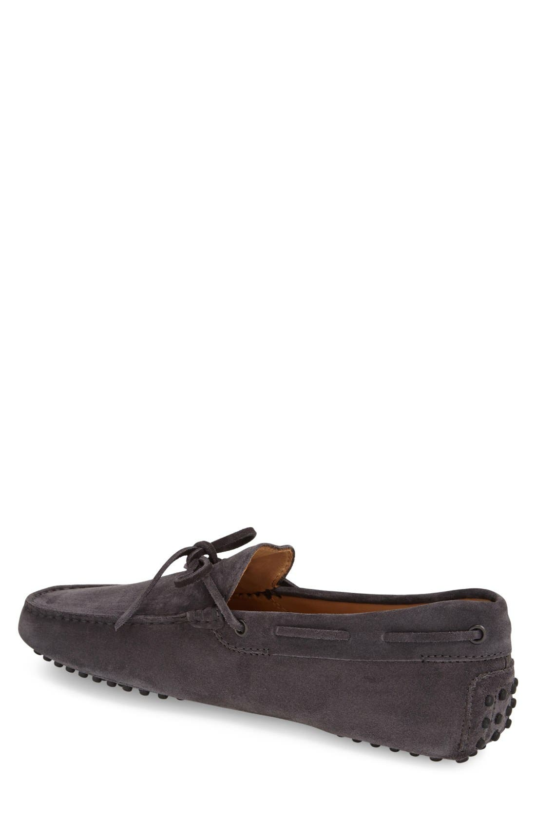 Gommini Tie Front Driving Moccasin,                             Main thumbnail 4, color,