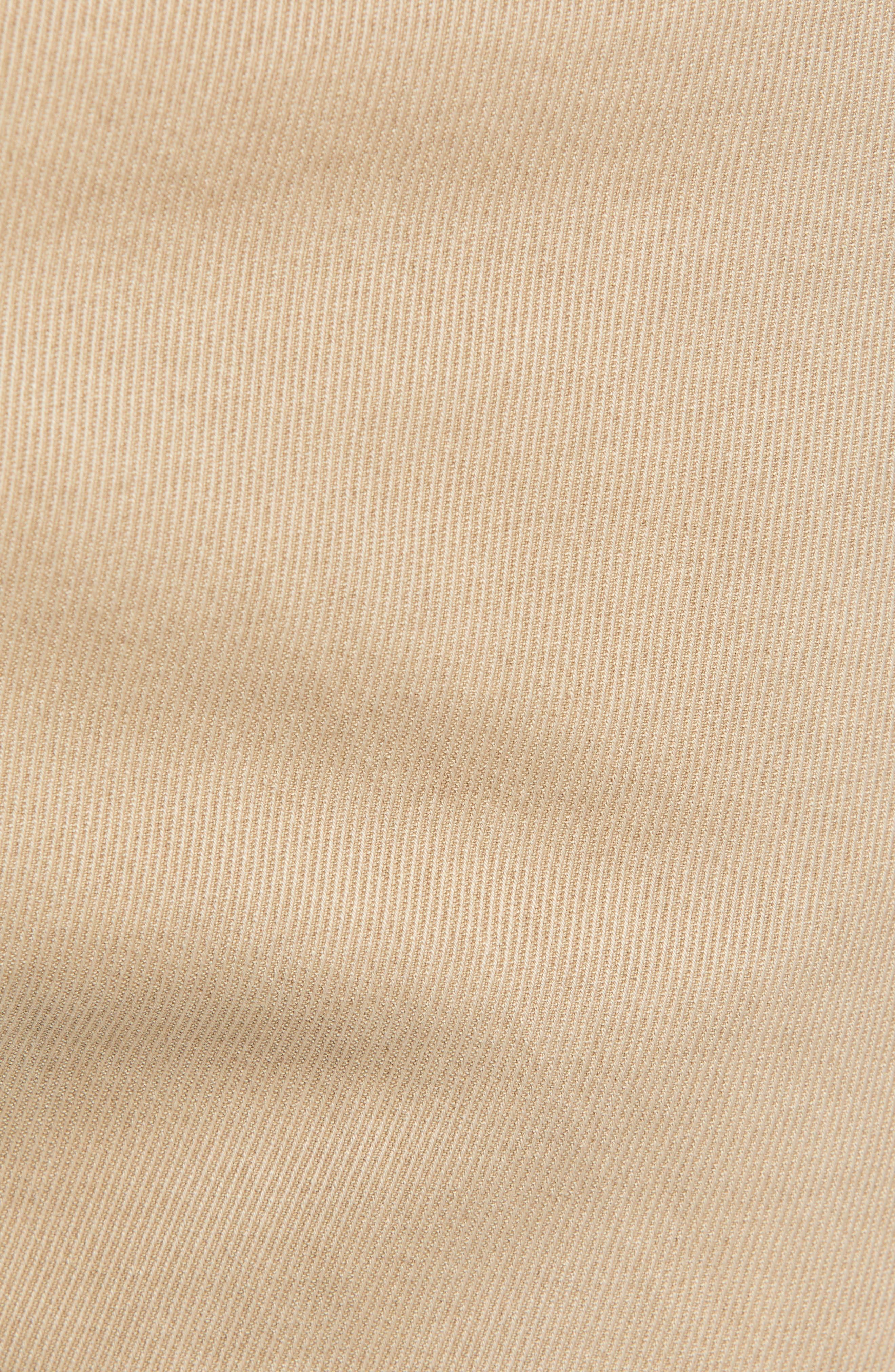 Comfort Twill Five-Pocket Pants,                             Alternate thumbnail 5, color,                             KHAKI