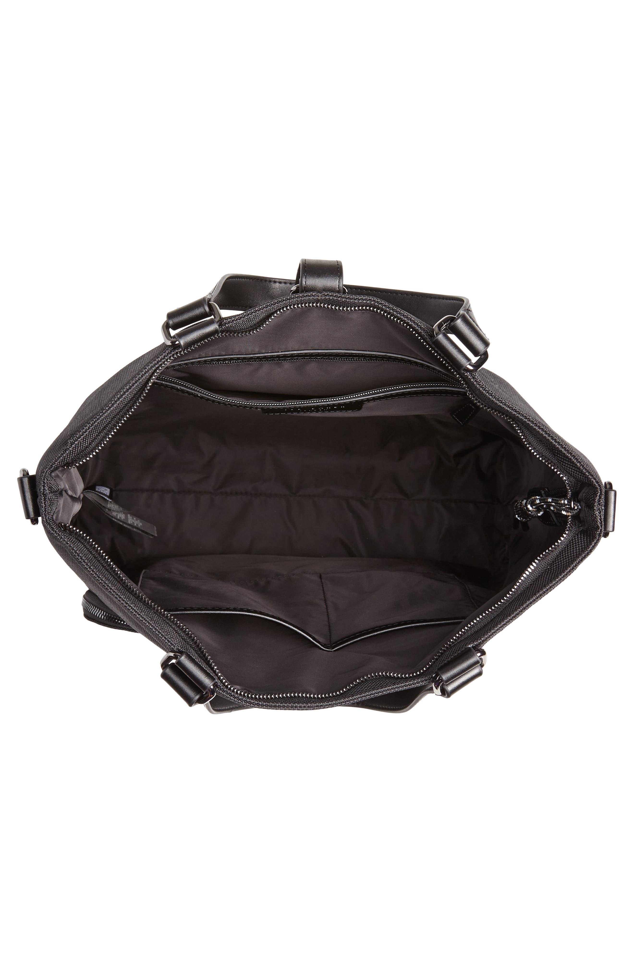 Tidee Convertible Backpack,                             Alternate thumbnail 4, color,                             BLACK