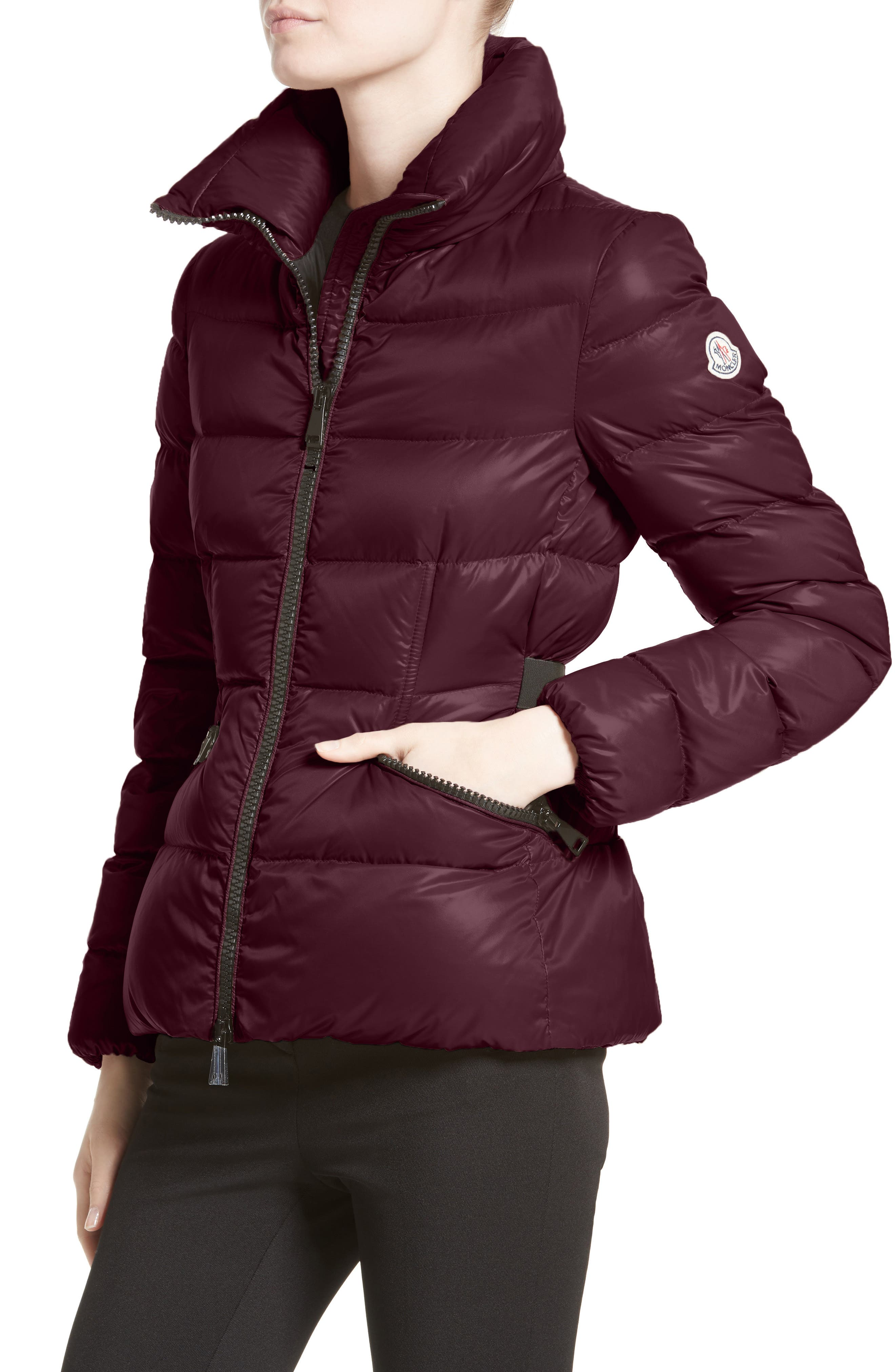Danae Down Puffer Jacket,                             Alternate thumbnail 4, color,                             930