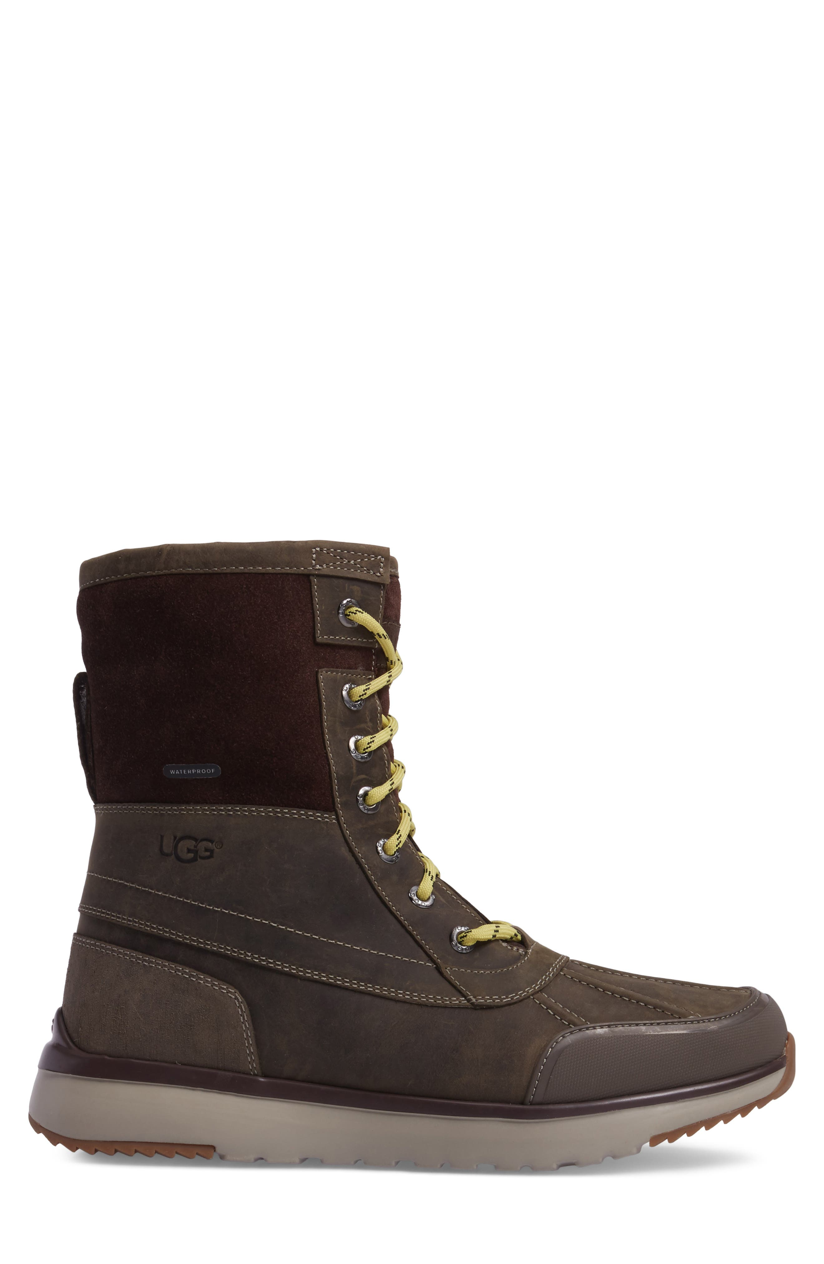 UGG<SUP>®</SUP>,                             Eliasson Waterproof Snow Boot,                             Alternate thumbnail 3, color,                             SLATE