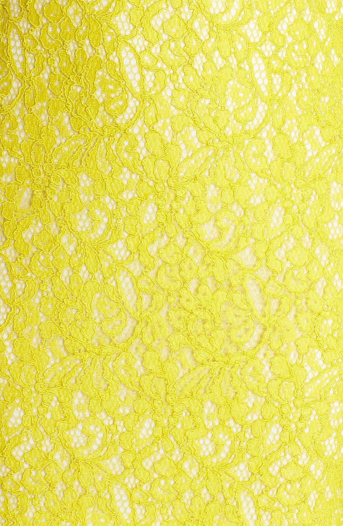 Boatneck Lace Sheath Dress,                             Alternate thumbnail 150, color,