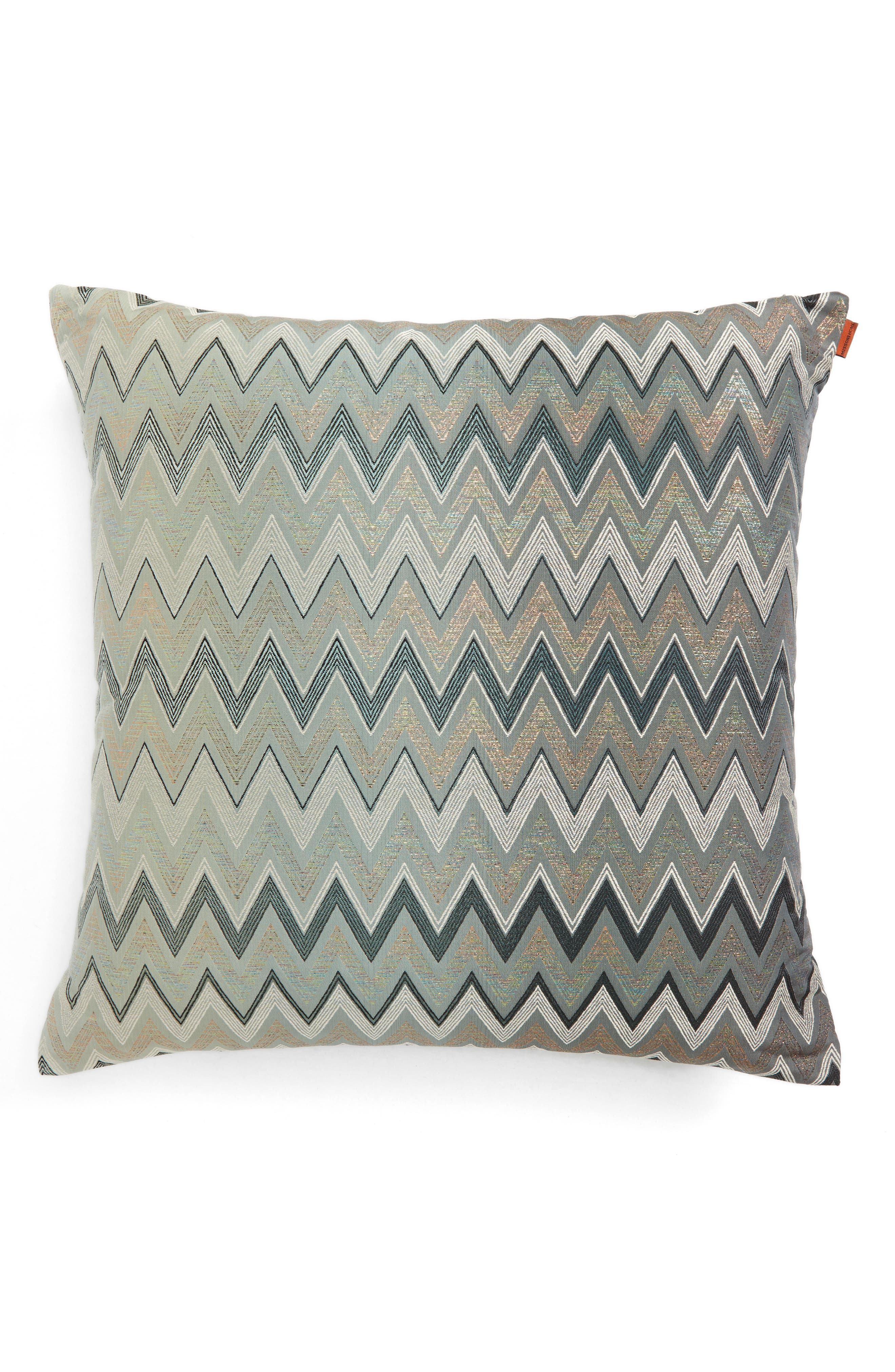 Taipei Accent Pillow,                             Alternate thumbnail 2, color,                             MULTI BLUE