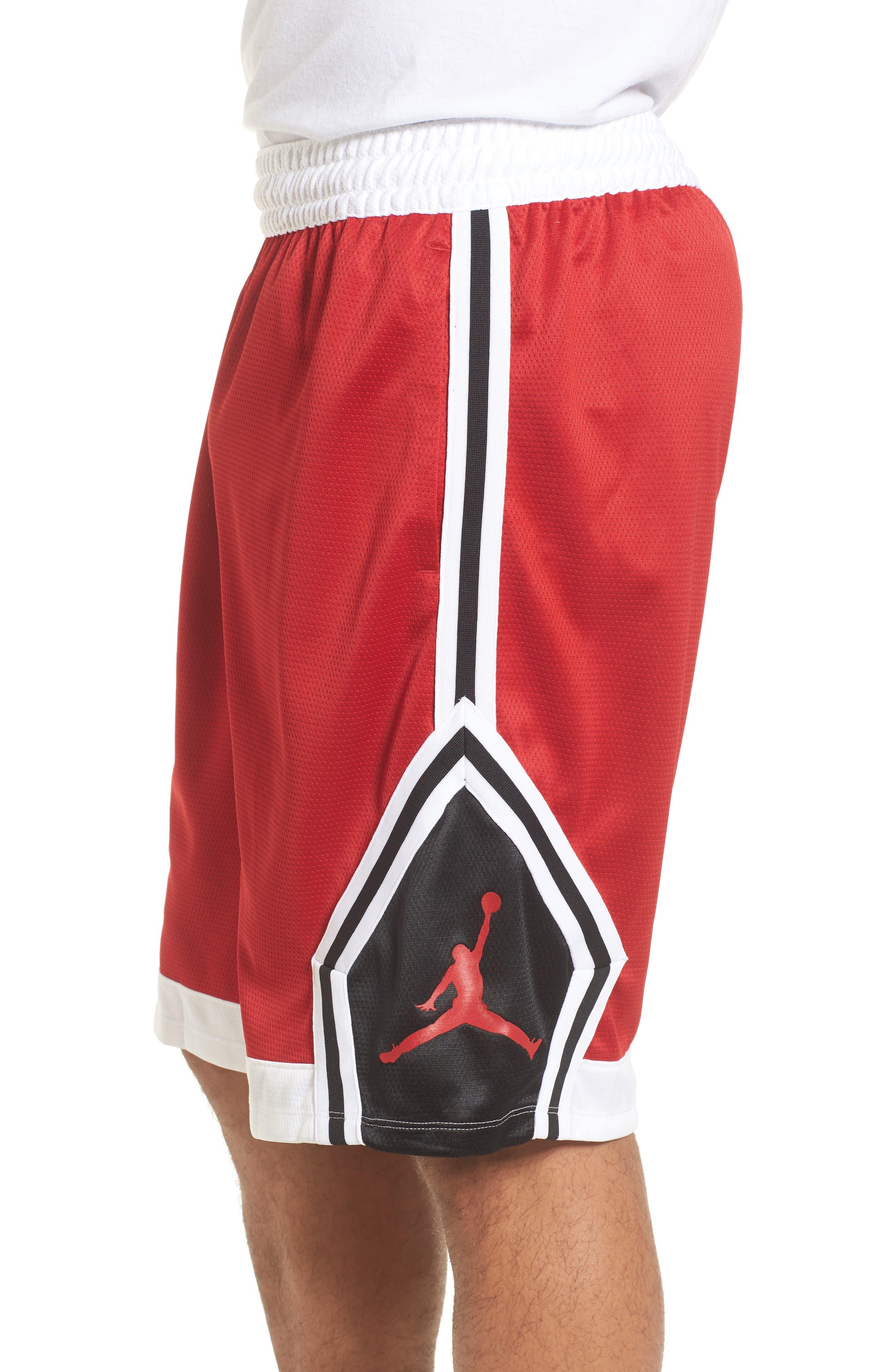 Sportswear Rise Diamond Shorts,                             Alternate thumbnail 18, color,