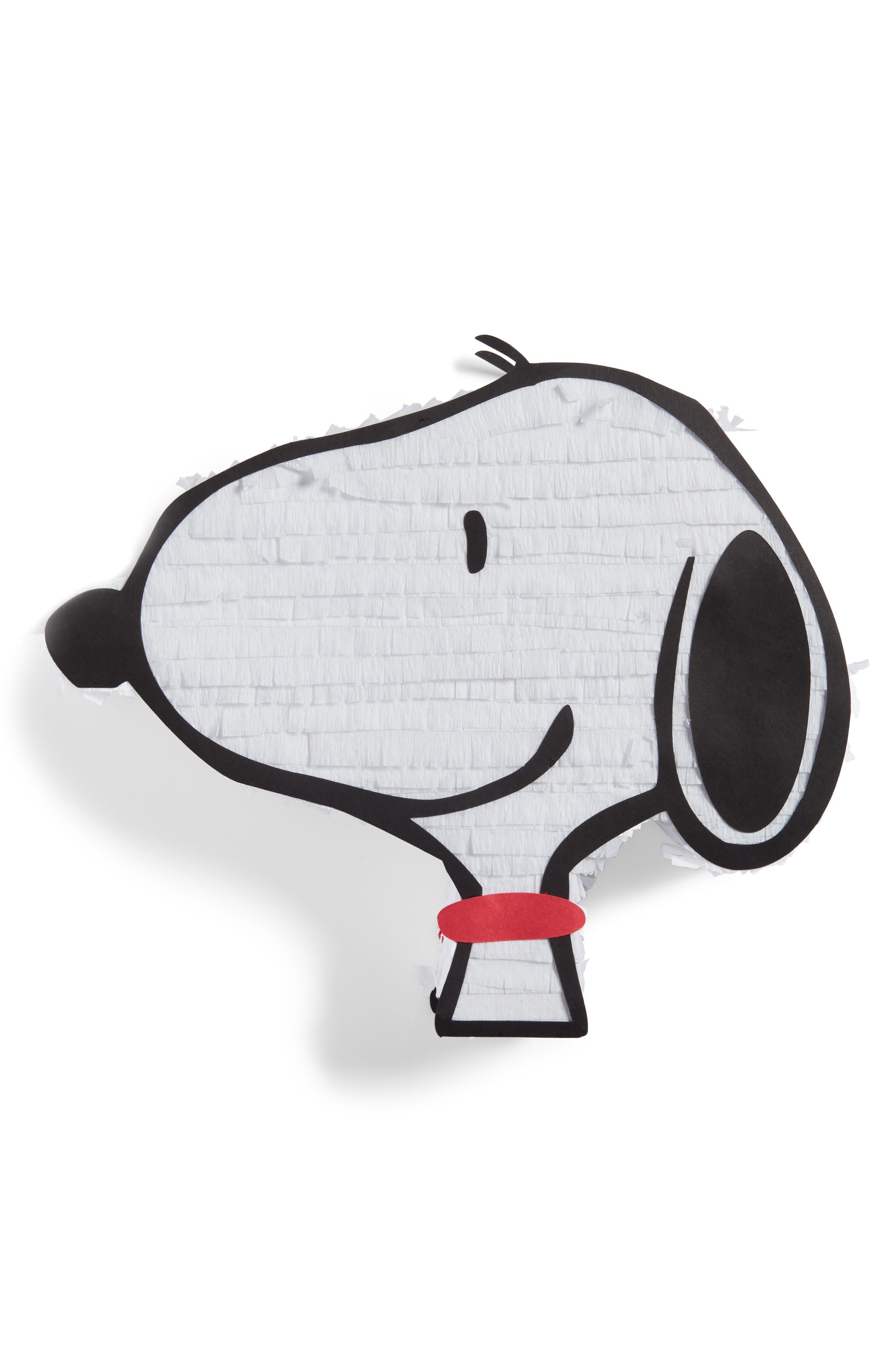 LULA FLORA Mini Snoopy Piñata, Main, color, 100