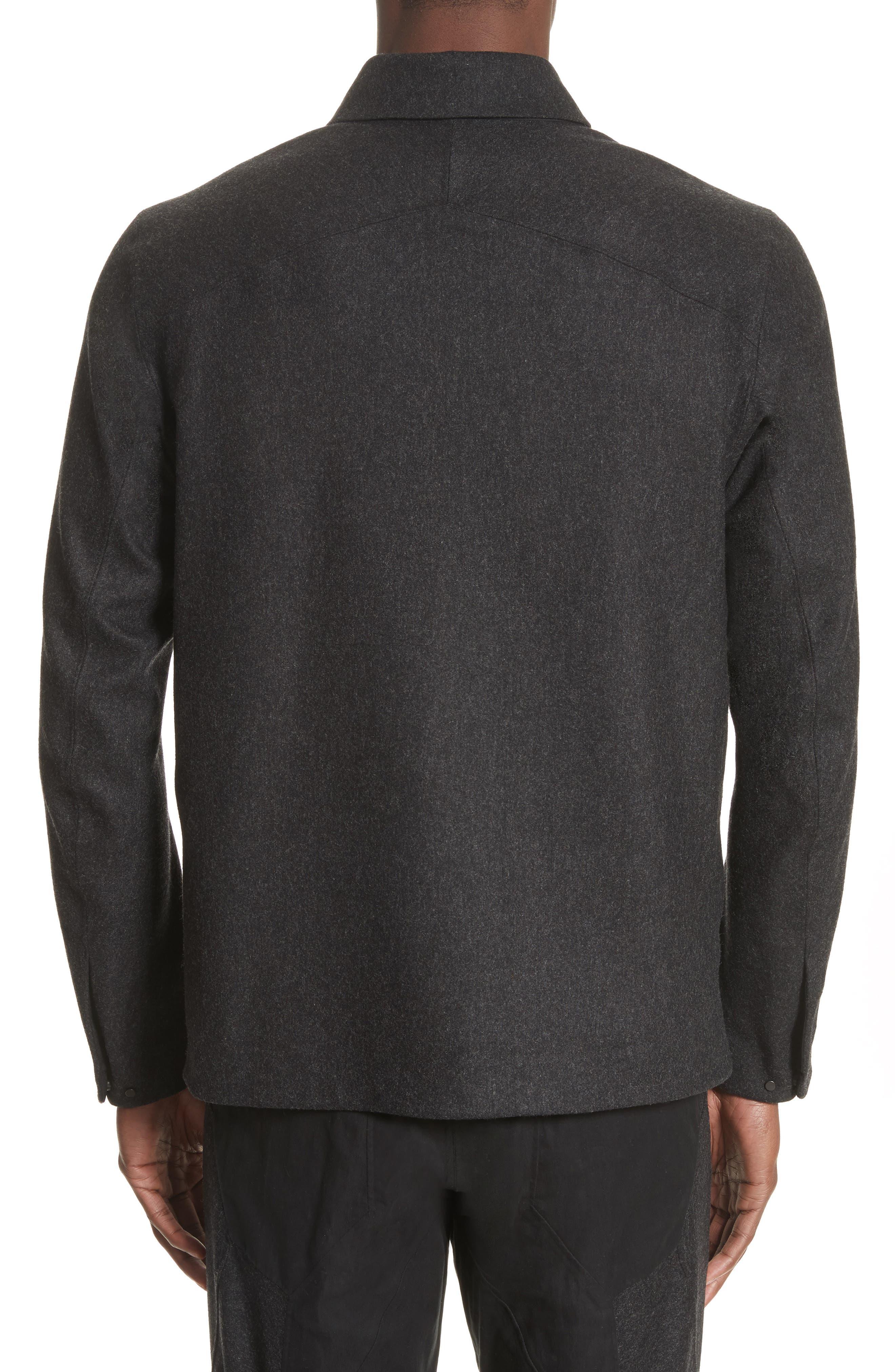 Haedn Shirt Jacket,                             Alternate thumbnail 3, color,                             001