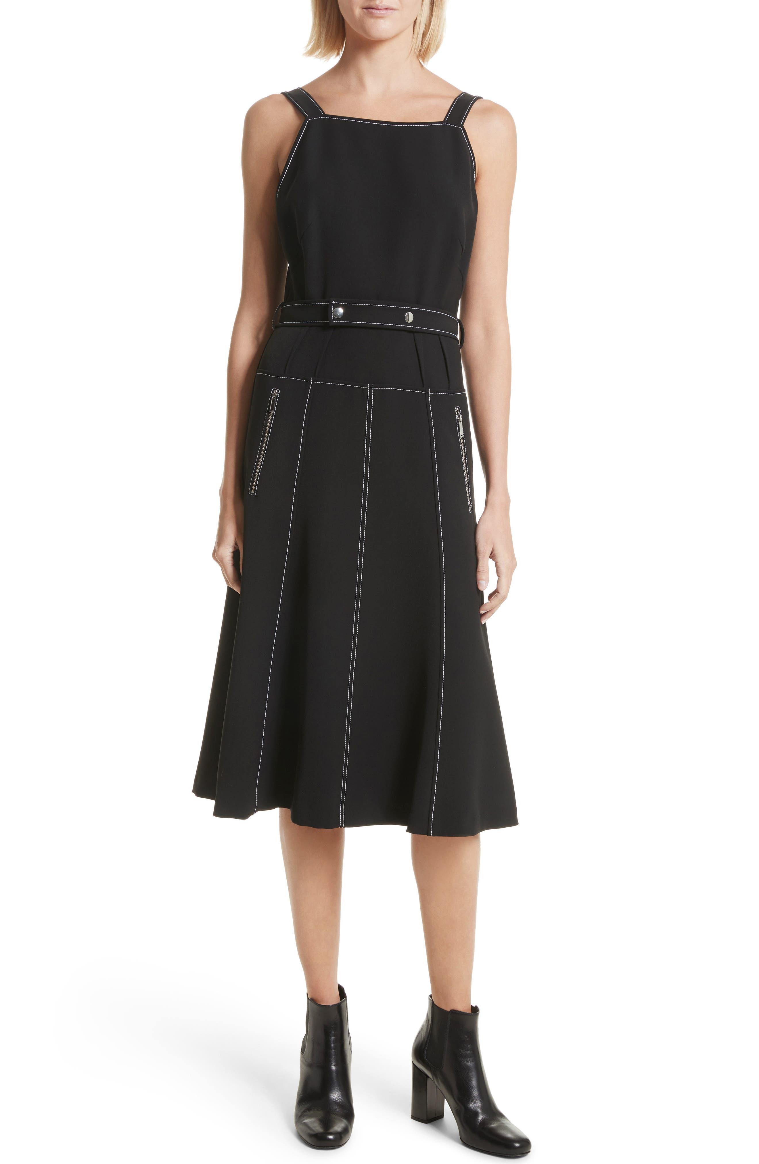 Belted Dress,                             Alternate thumbnail 5, color,                             434