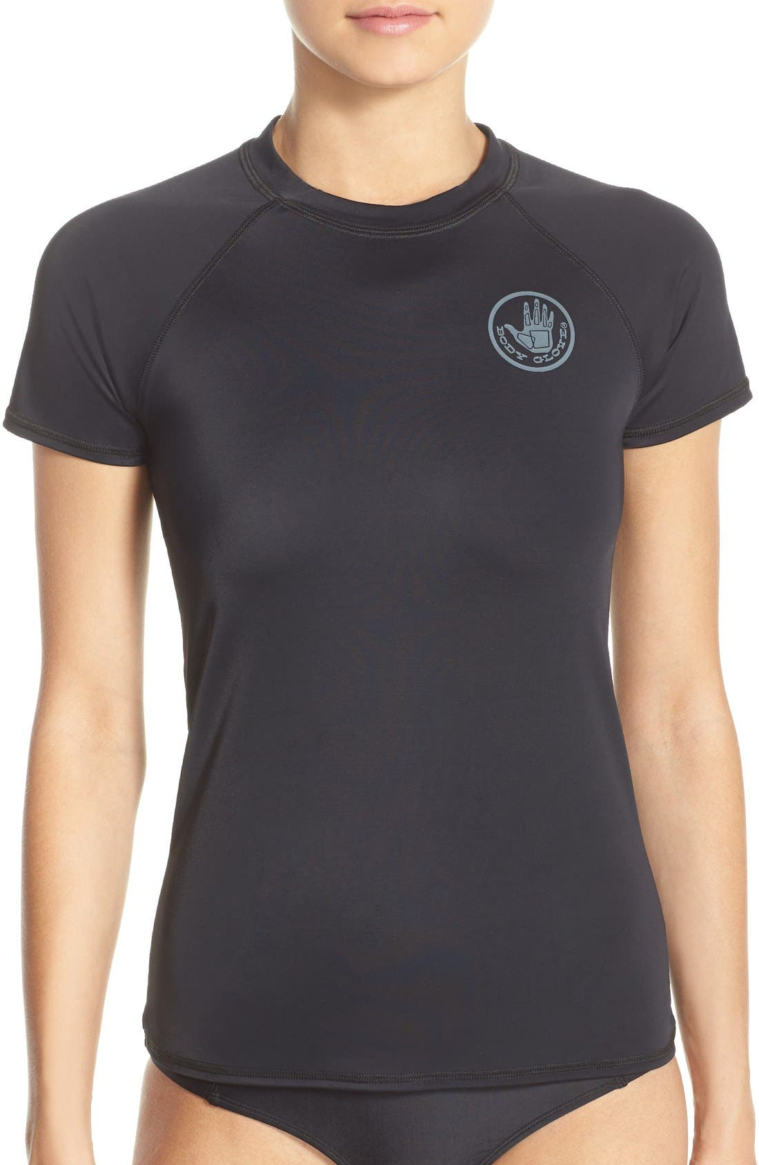 'Smoothies in Motion' Short Sleeve Rashguard,                             Main thumbnail 2, color,