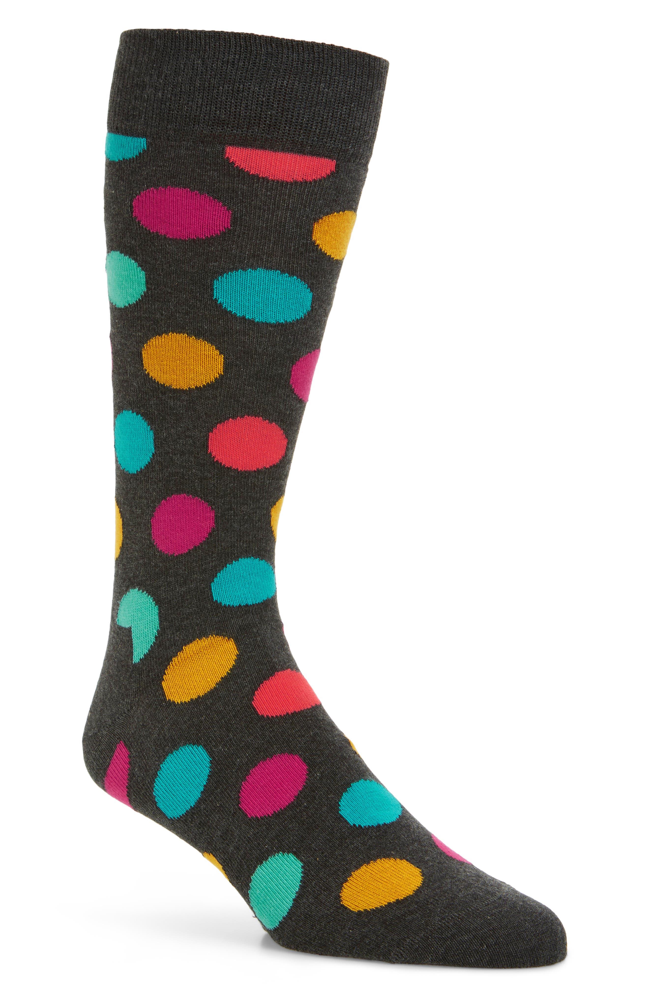 Dot Socks,                             Main thumbnail 1, color,                             020