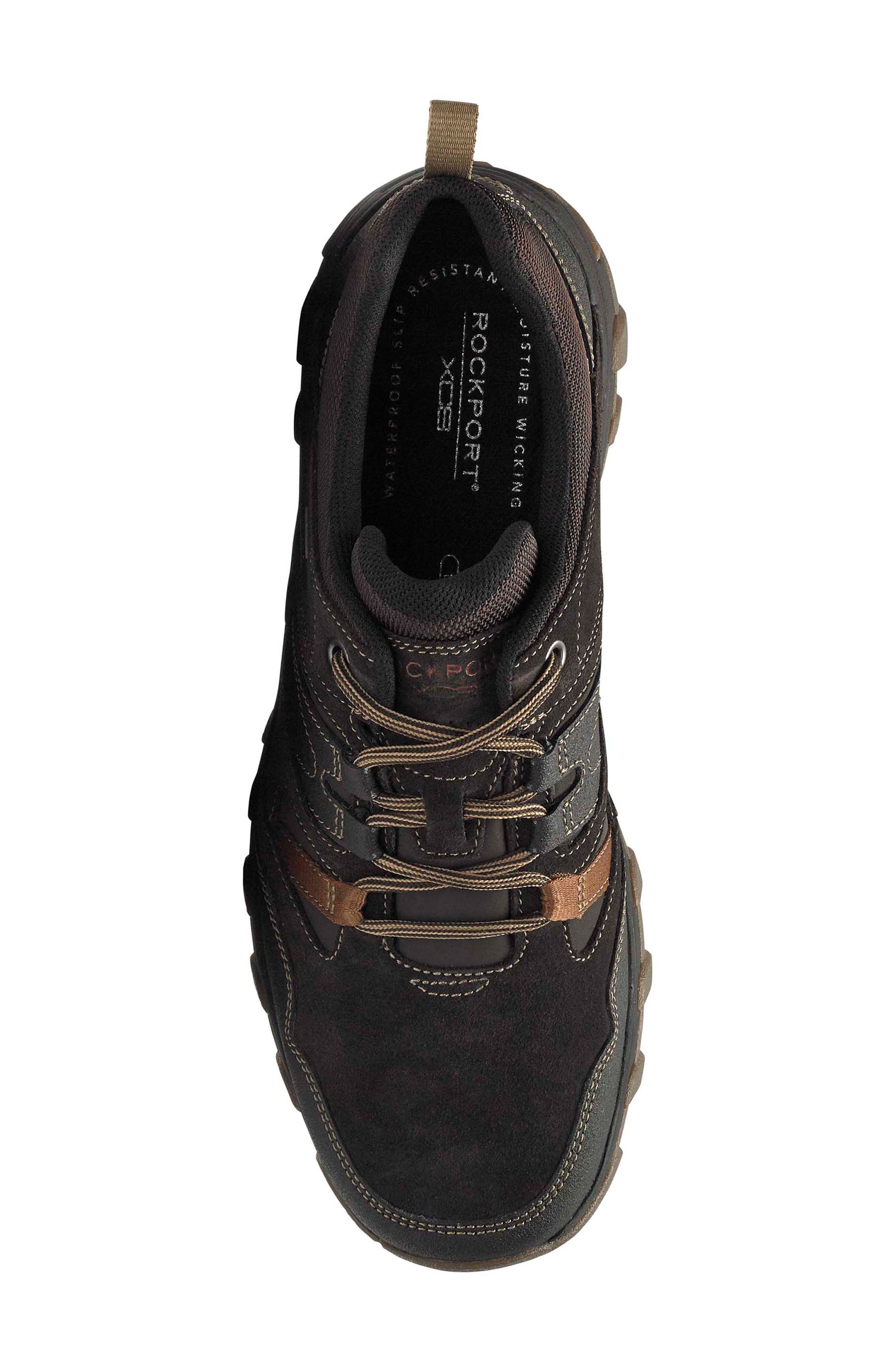 Cold Springs Plus Lace-Up Sneaker,                             Alternate thumbnail 5, color,                             DARK BROWN LEATHER